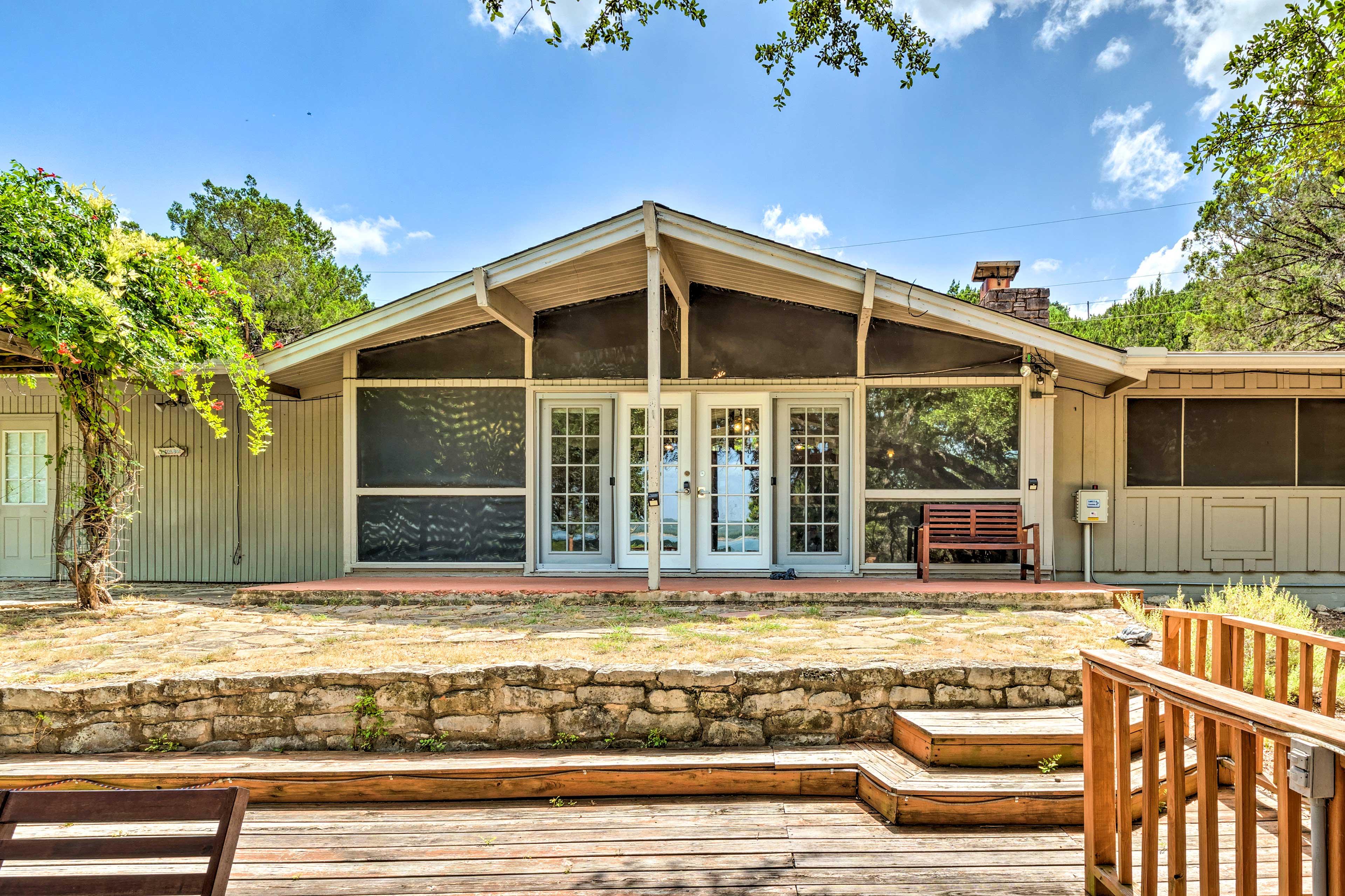 Visit this 3-bedroom, 2-bathroom vacation rental in Lago Vista, Texas!
