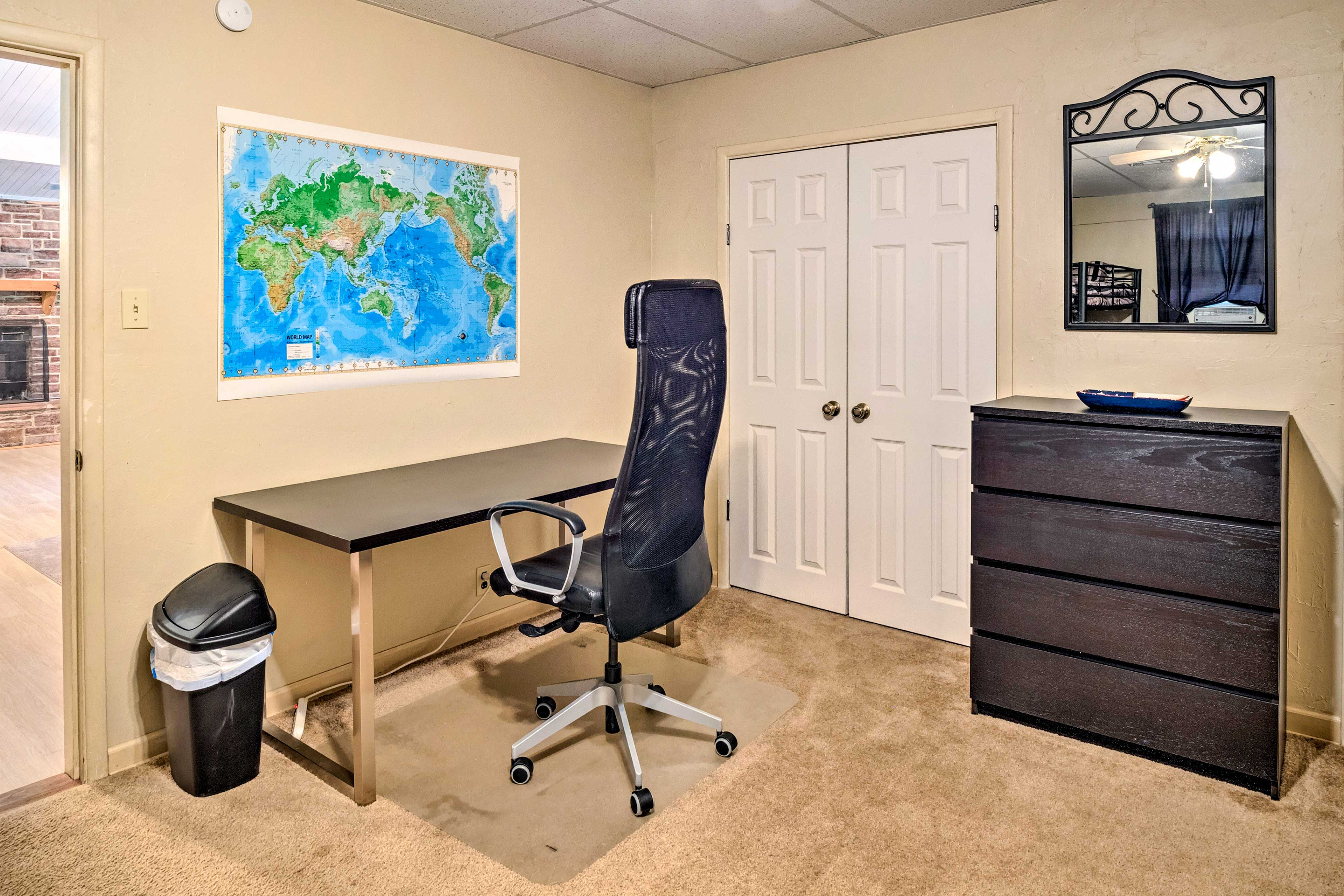 Be sure to take advantage of the mini office in bedroom 3!
