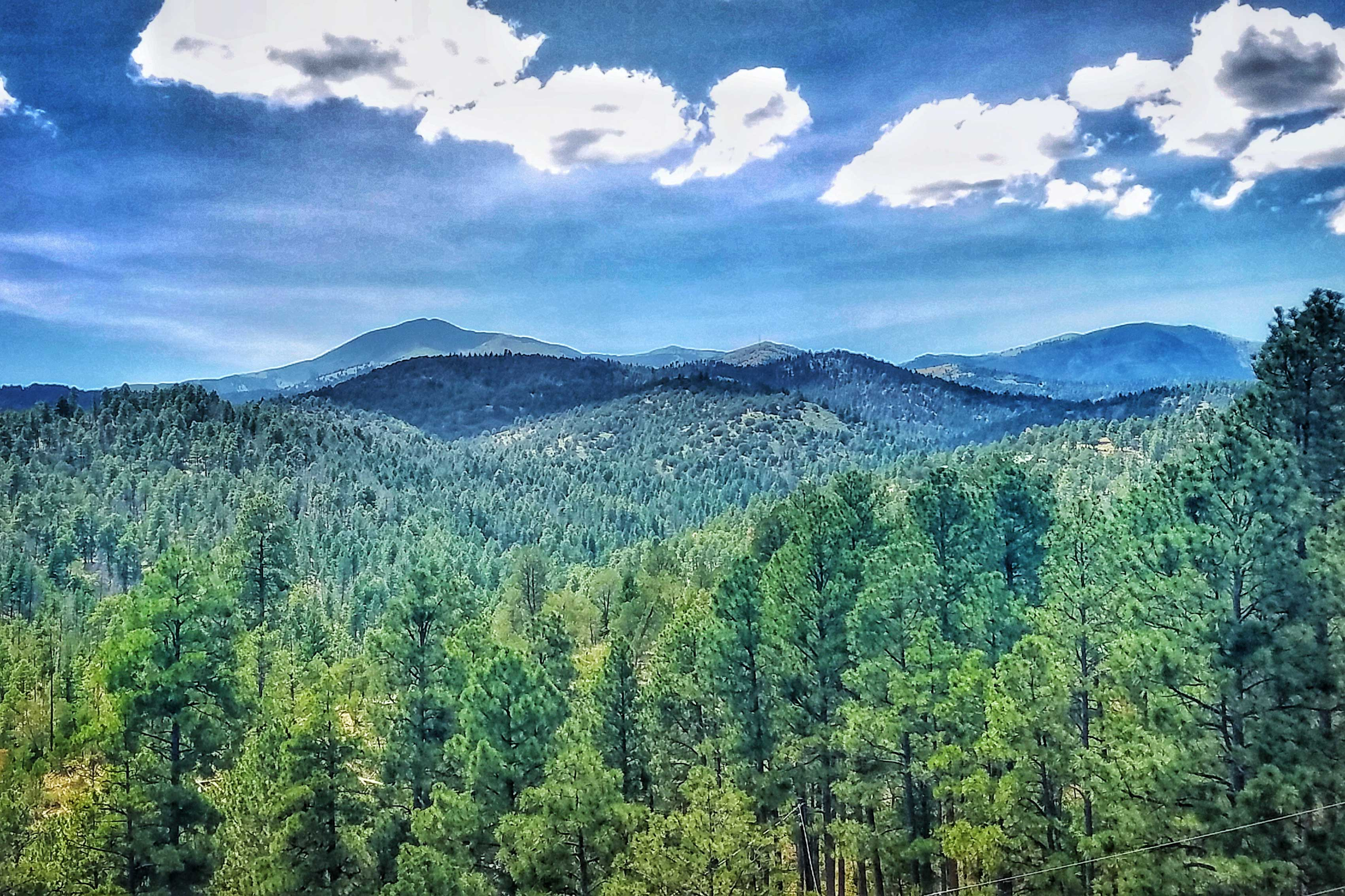 Incredible mountain views await!