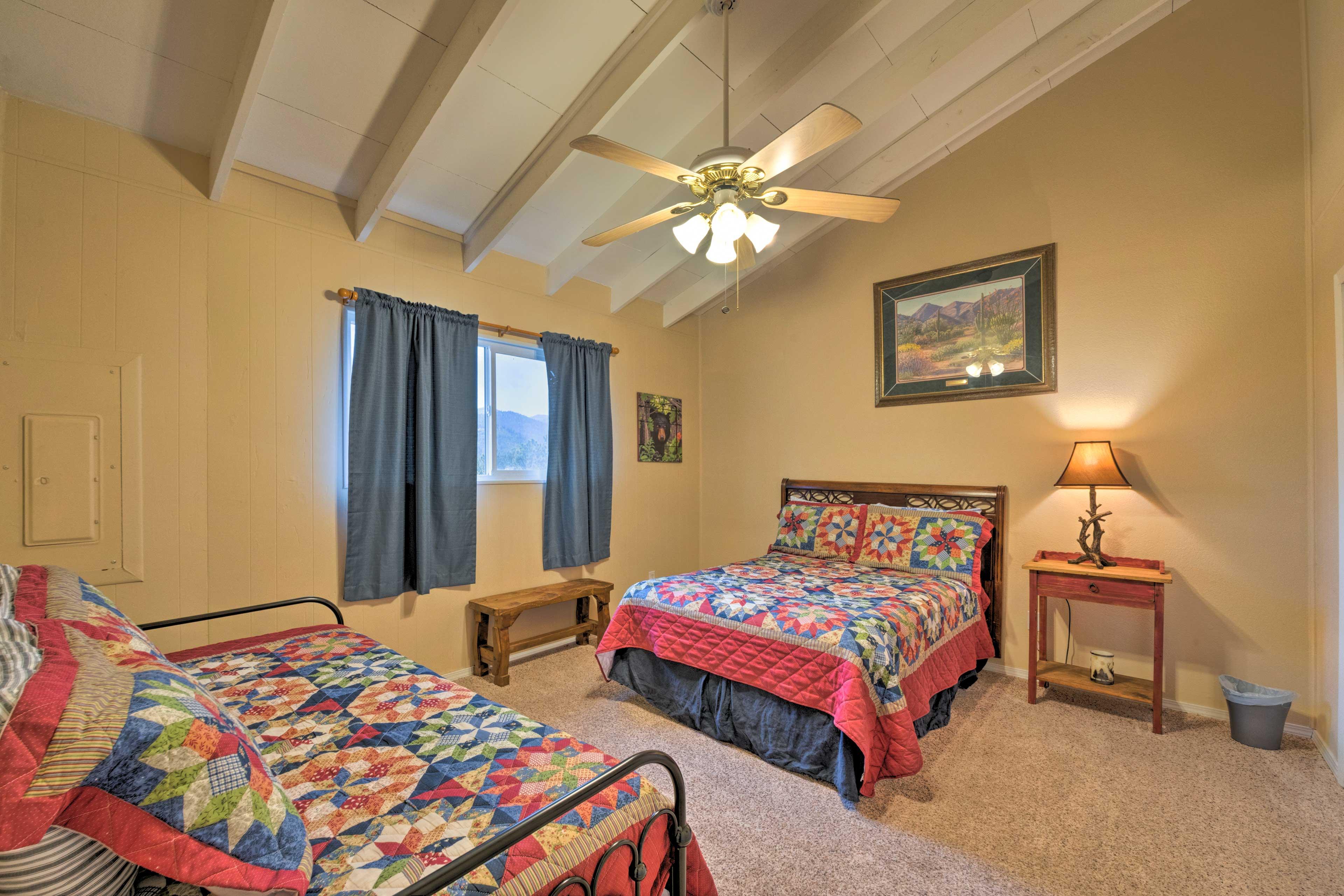 Sleep 4 in this charming bedroom.