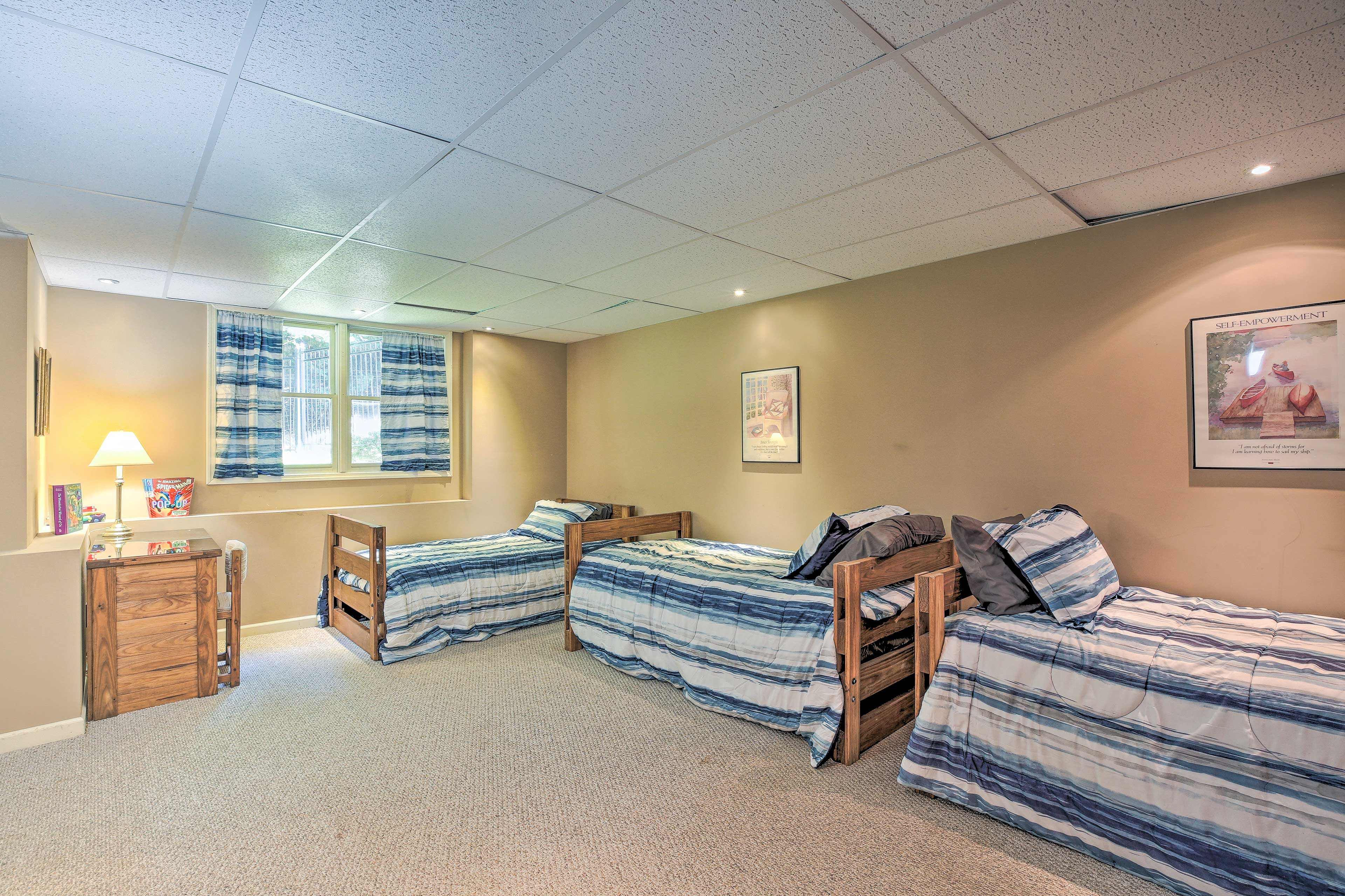 This room is perfect for friends or siblings to share.