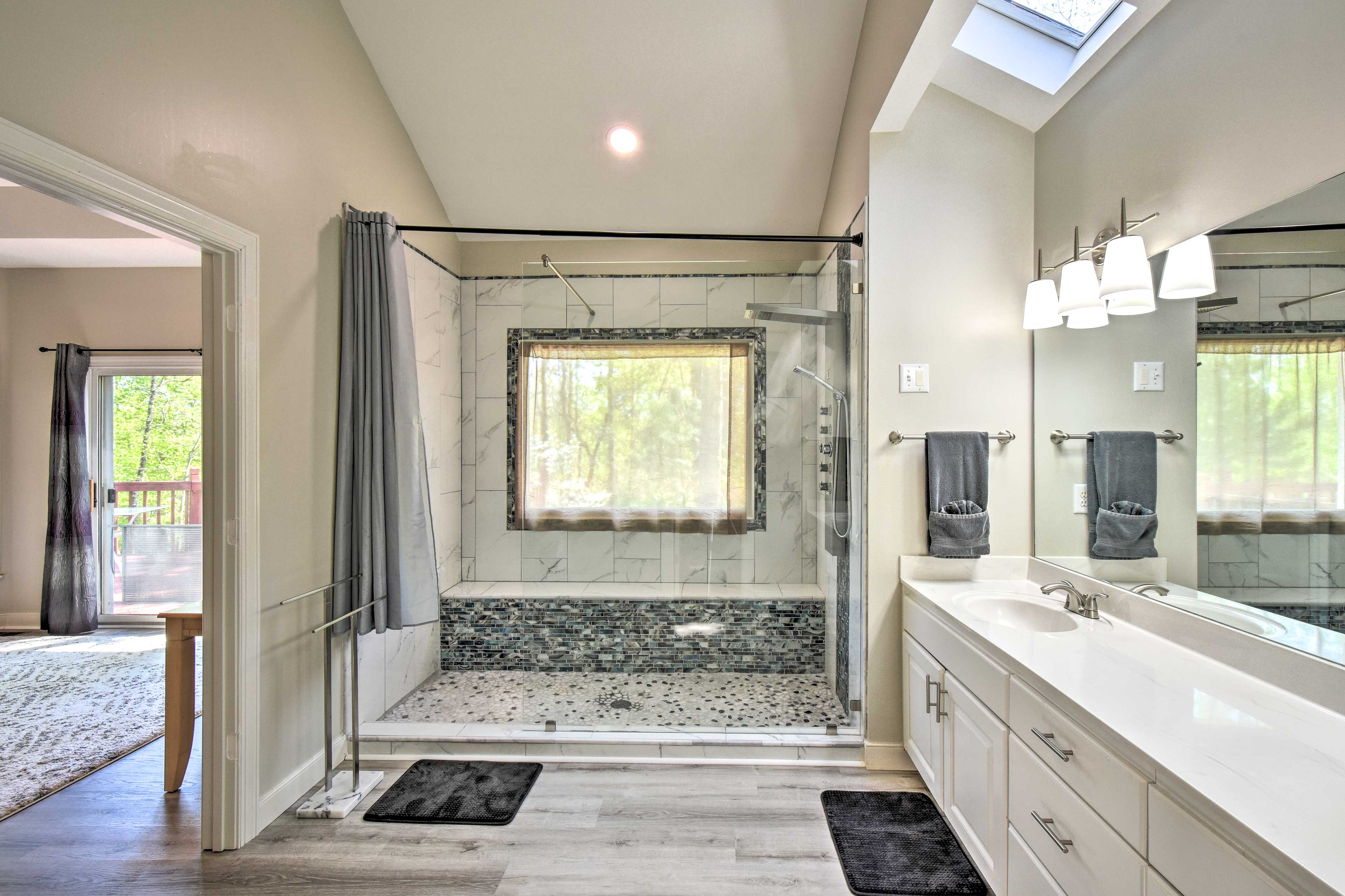 Rinse off in this brand new concept shower!