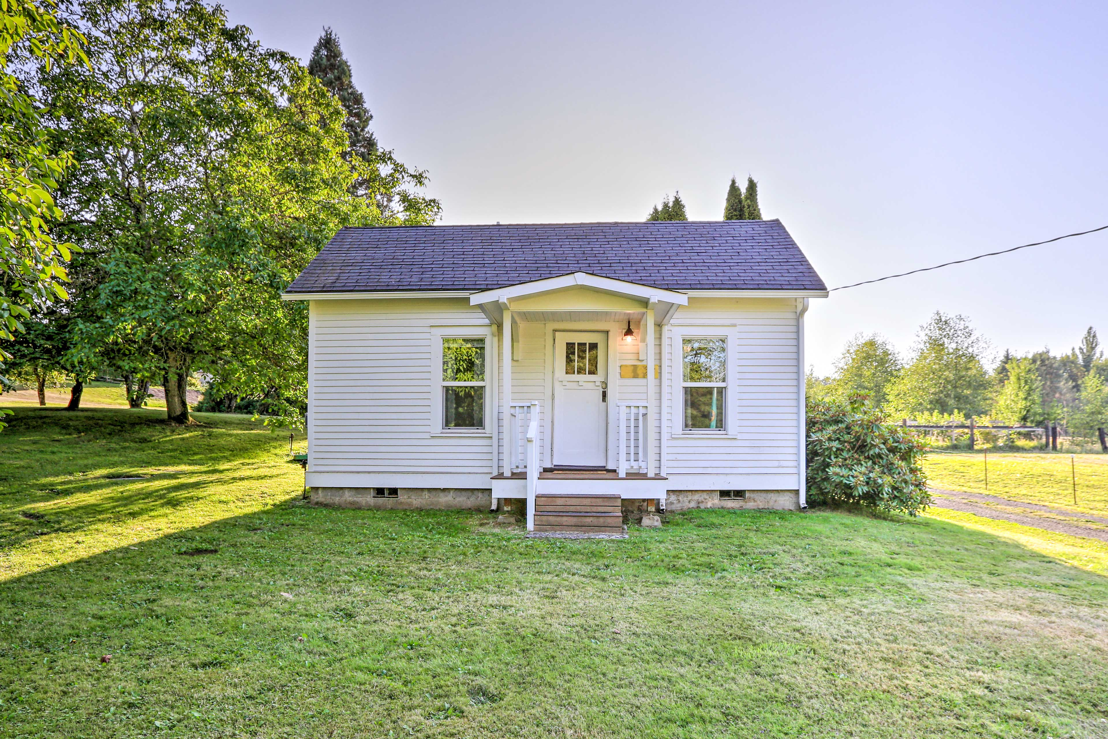 Welcome to your cozy cottage getaway in the Pacific Northwest!