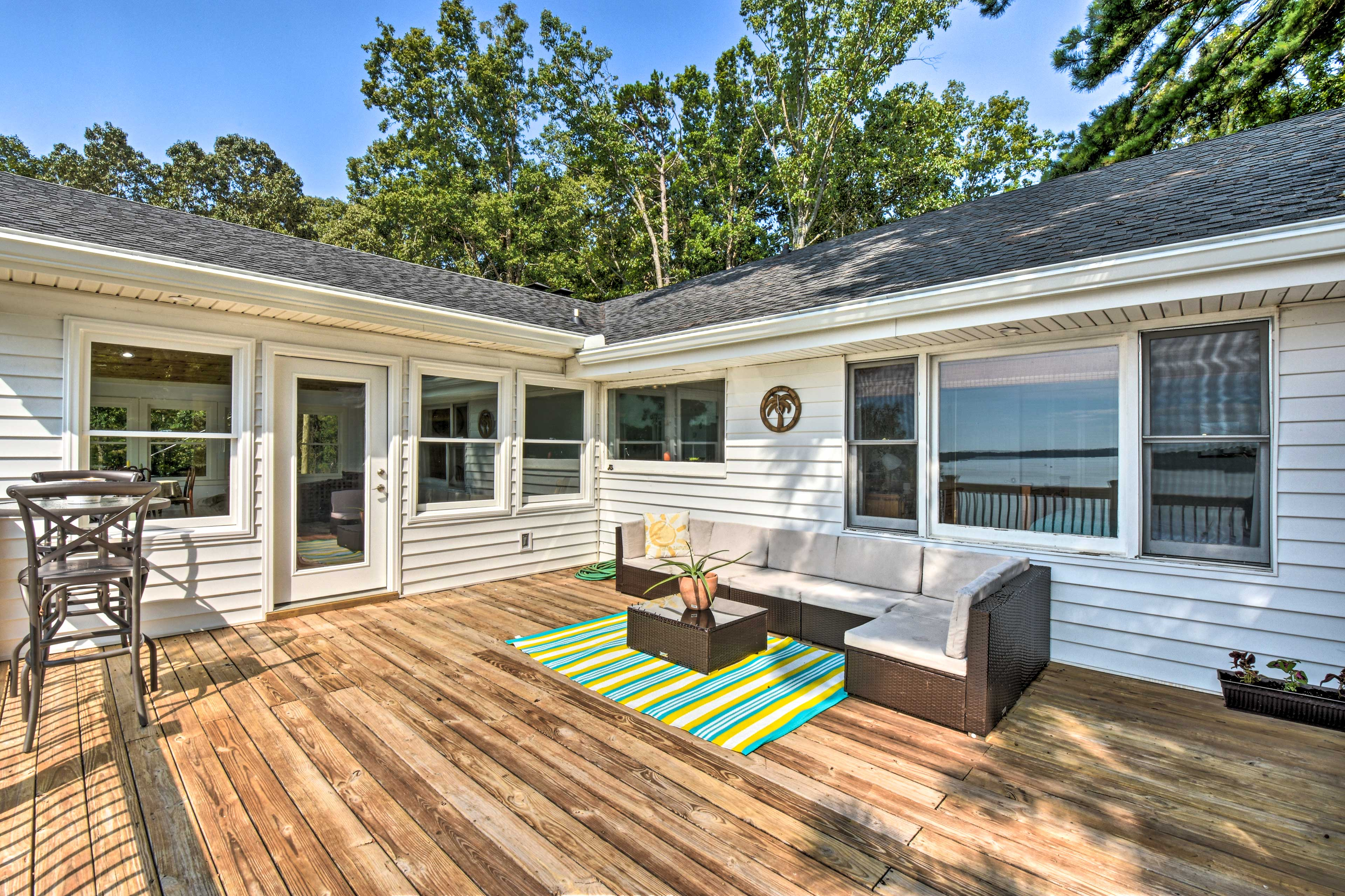 Property Exterior | Deck w/ Seating