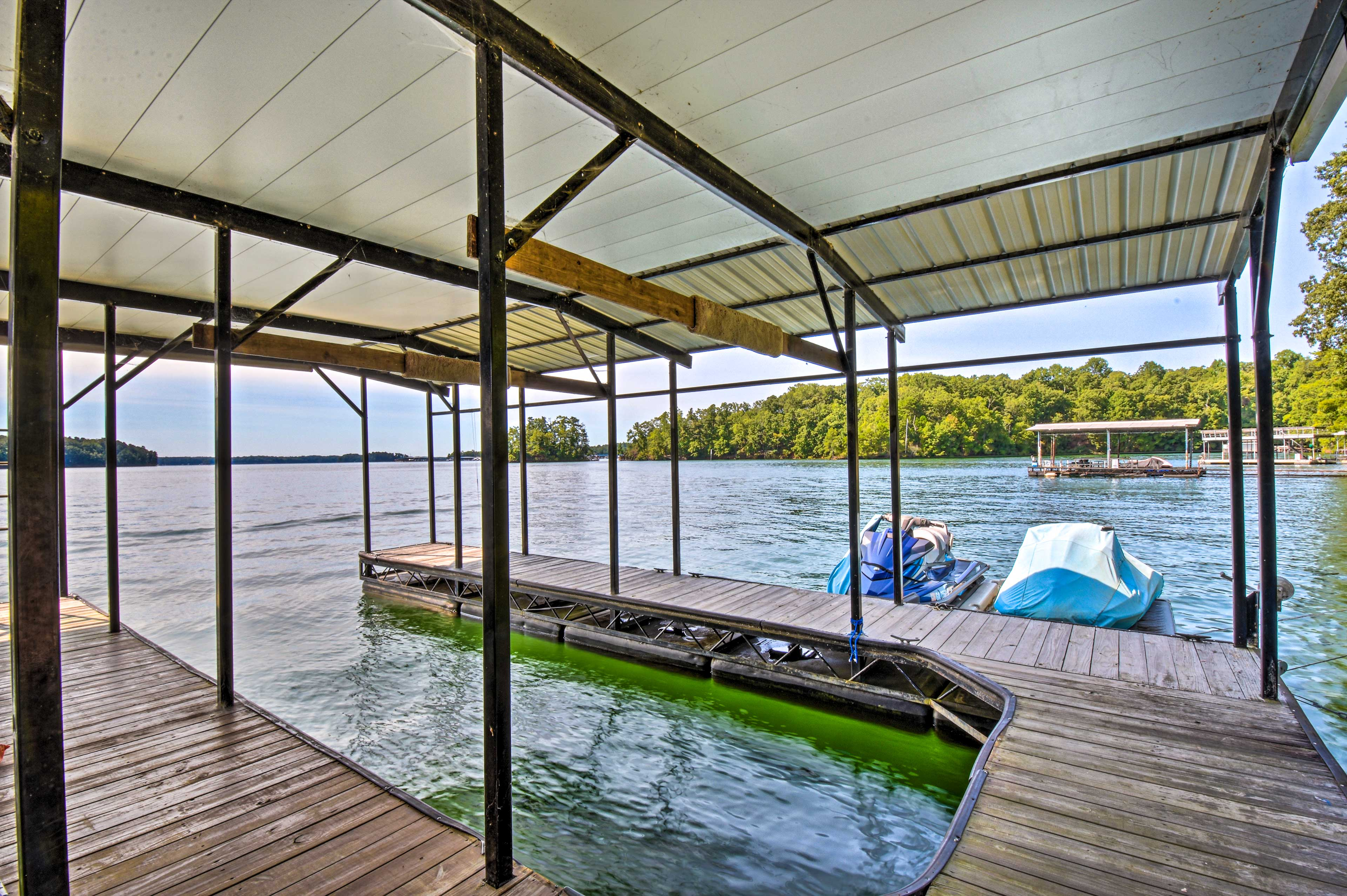 Property Exterior | Shared Dock
