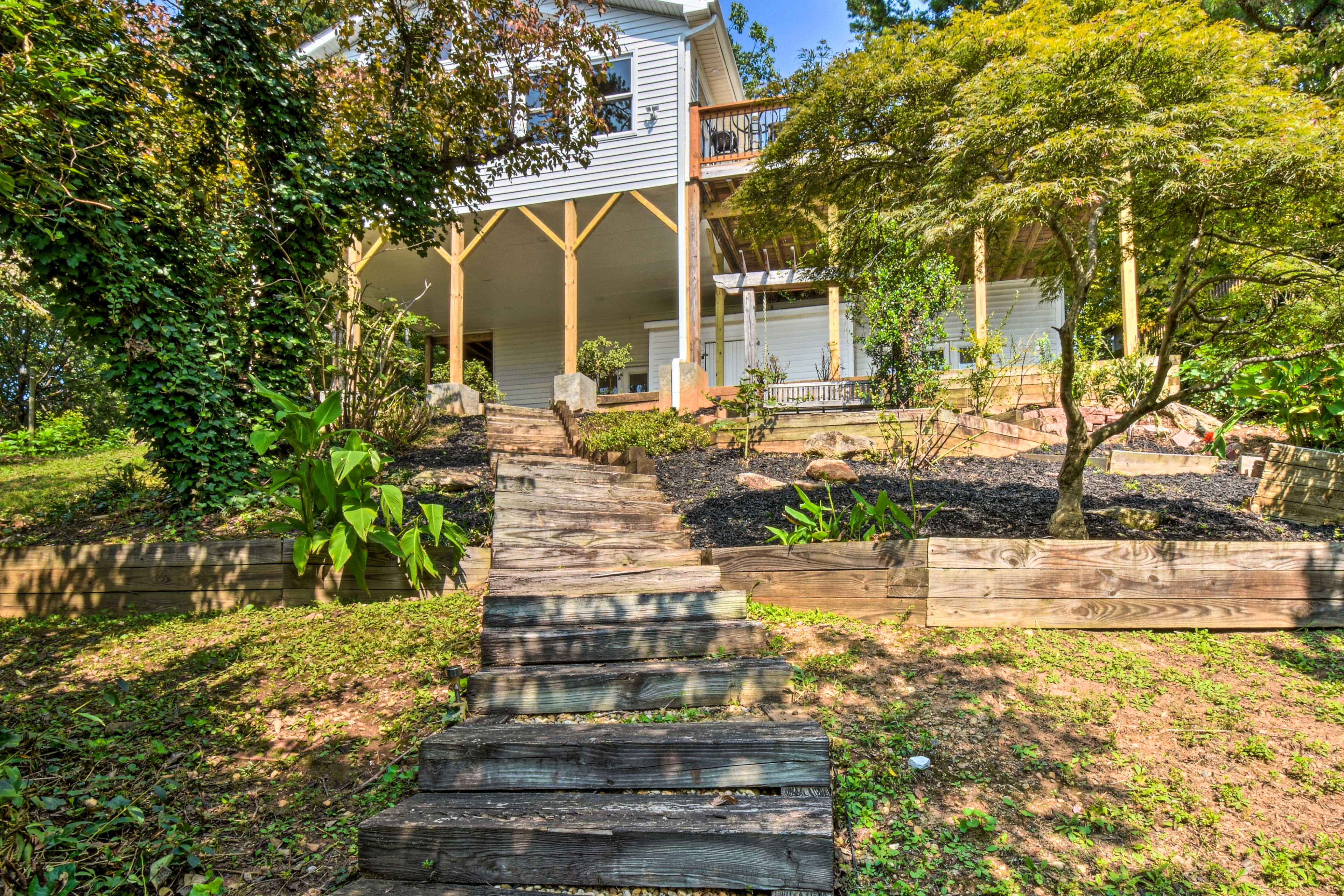Property Exterior | Steps Down to Boardwalk