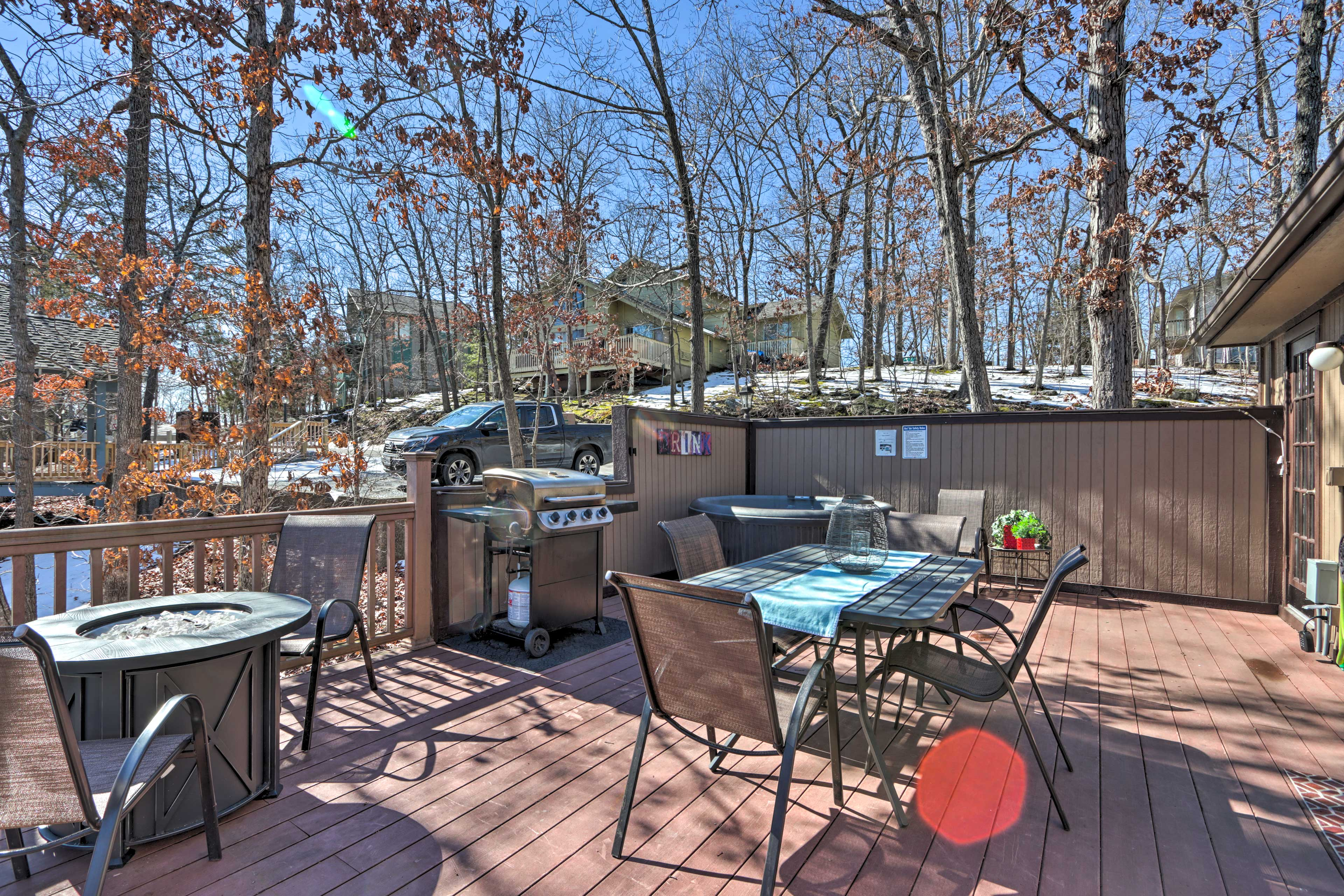 Private Deck   Off Bedroom 1