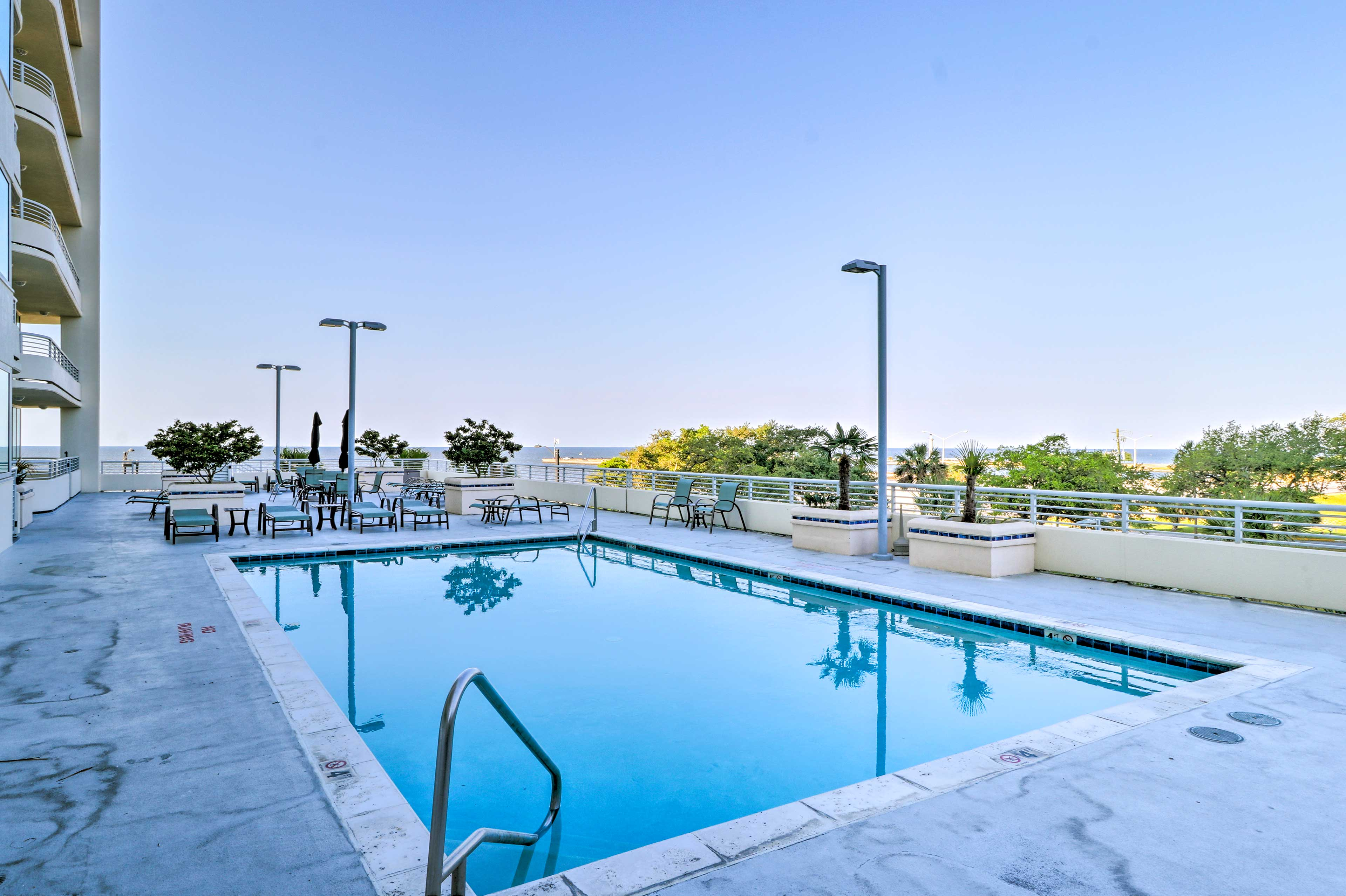 Dive into relaxation at the community pool!