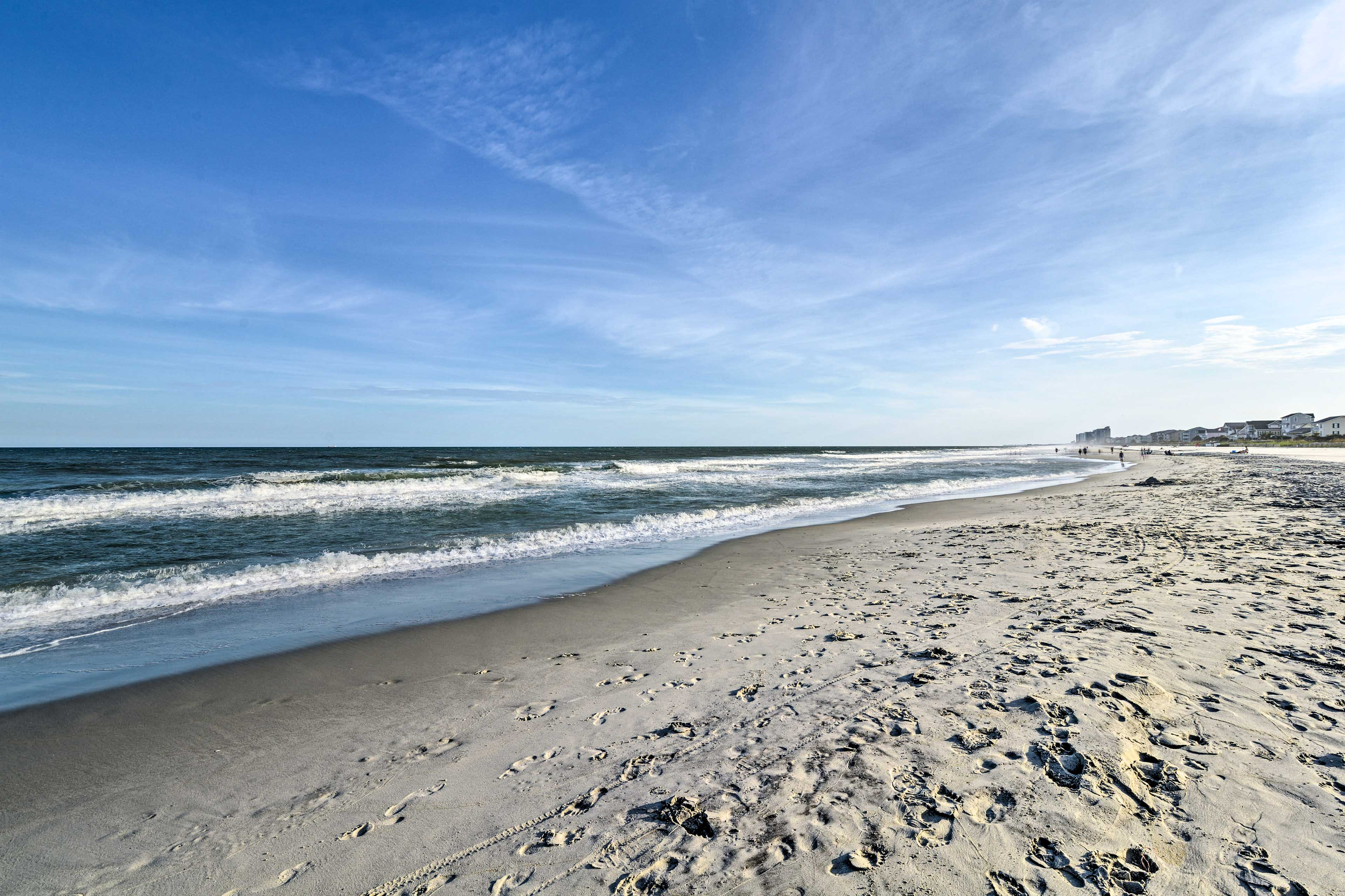 This property lies just across the street from South Carolina's famous beaches.
