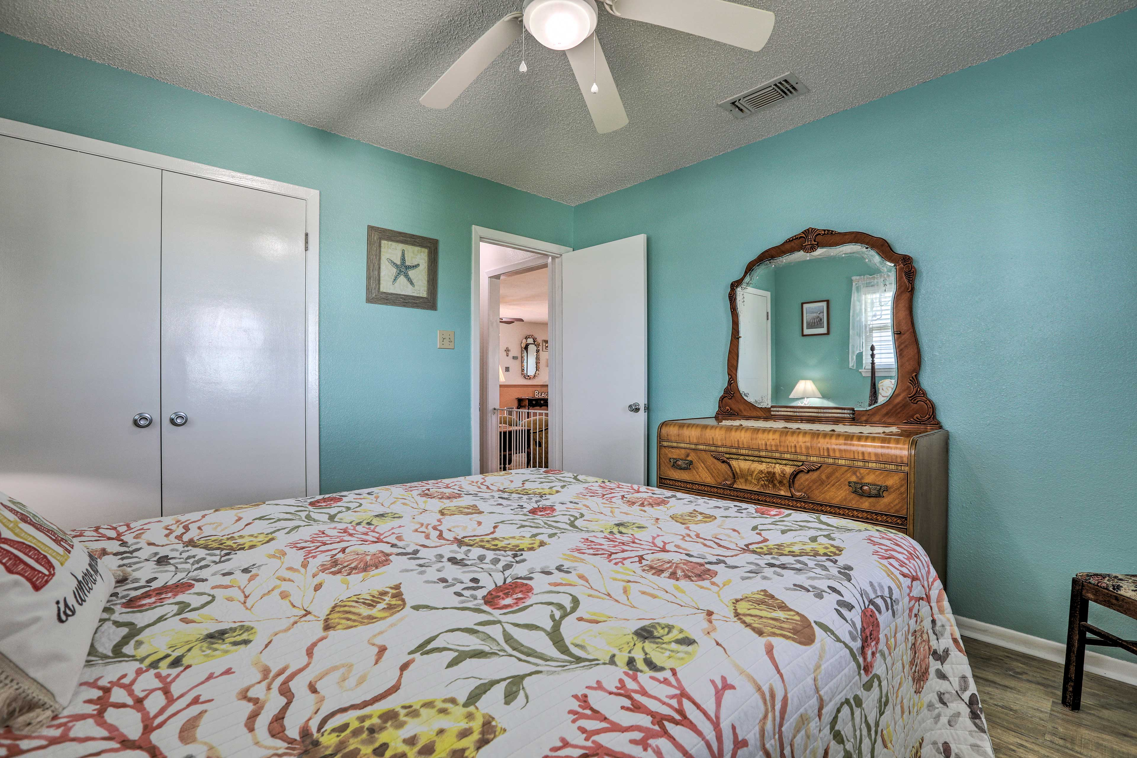 Drift off into dreamland in one of the 3 well-appointed bedrooms.