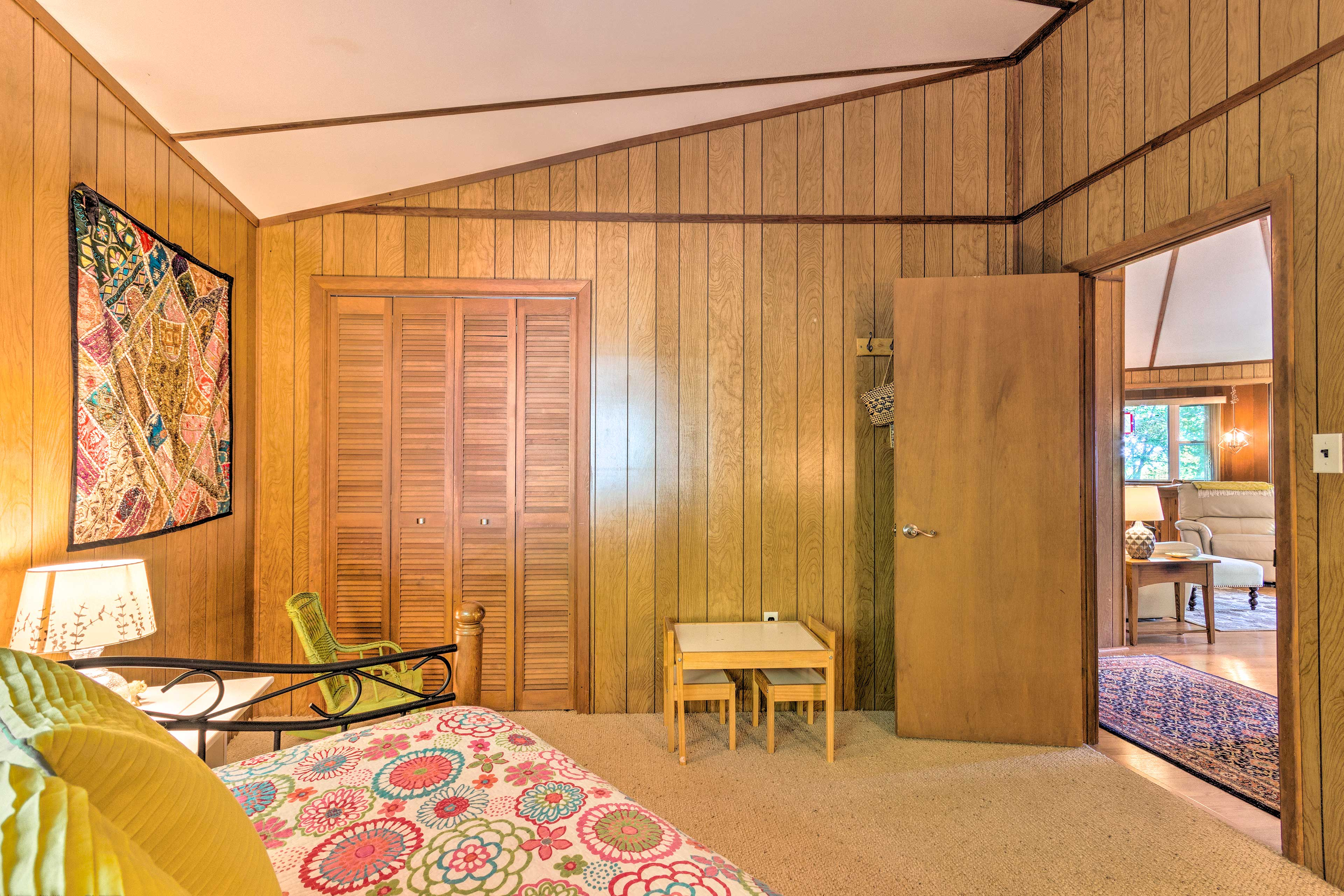Easily stay close to the action with both bedrooms located off the living room.