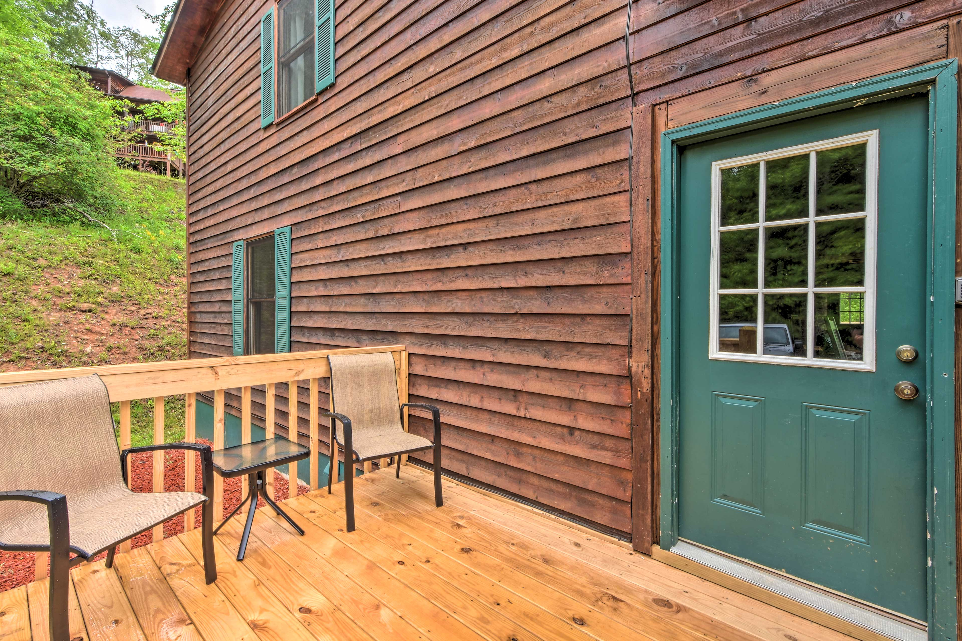 Enjoy the peacefulness and privacy that this vacation rental has to offer.