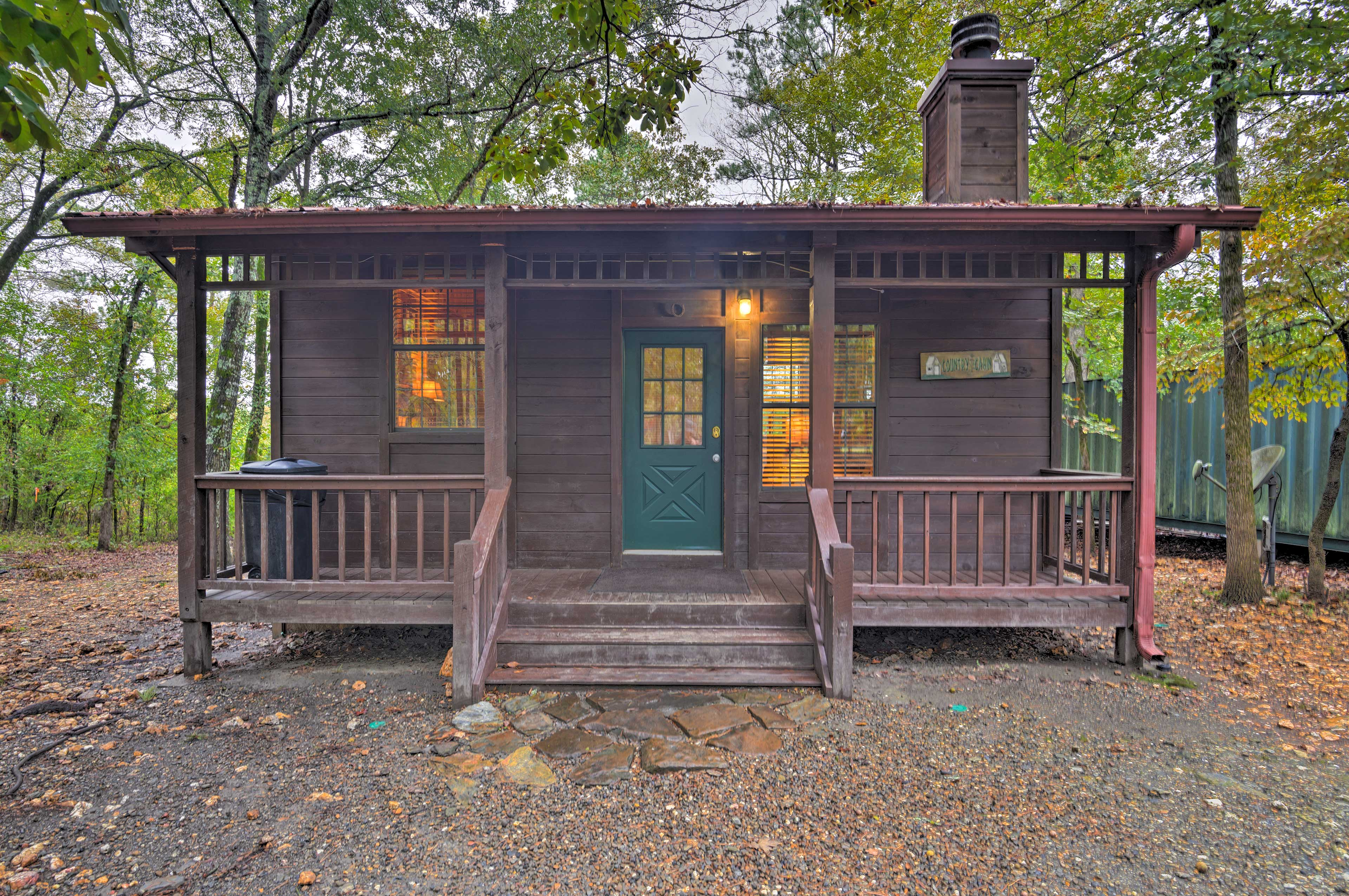 Scenic & semi-secluded, 'Sugar Shack' is the sweet escape you're searching for!