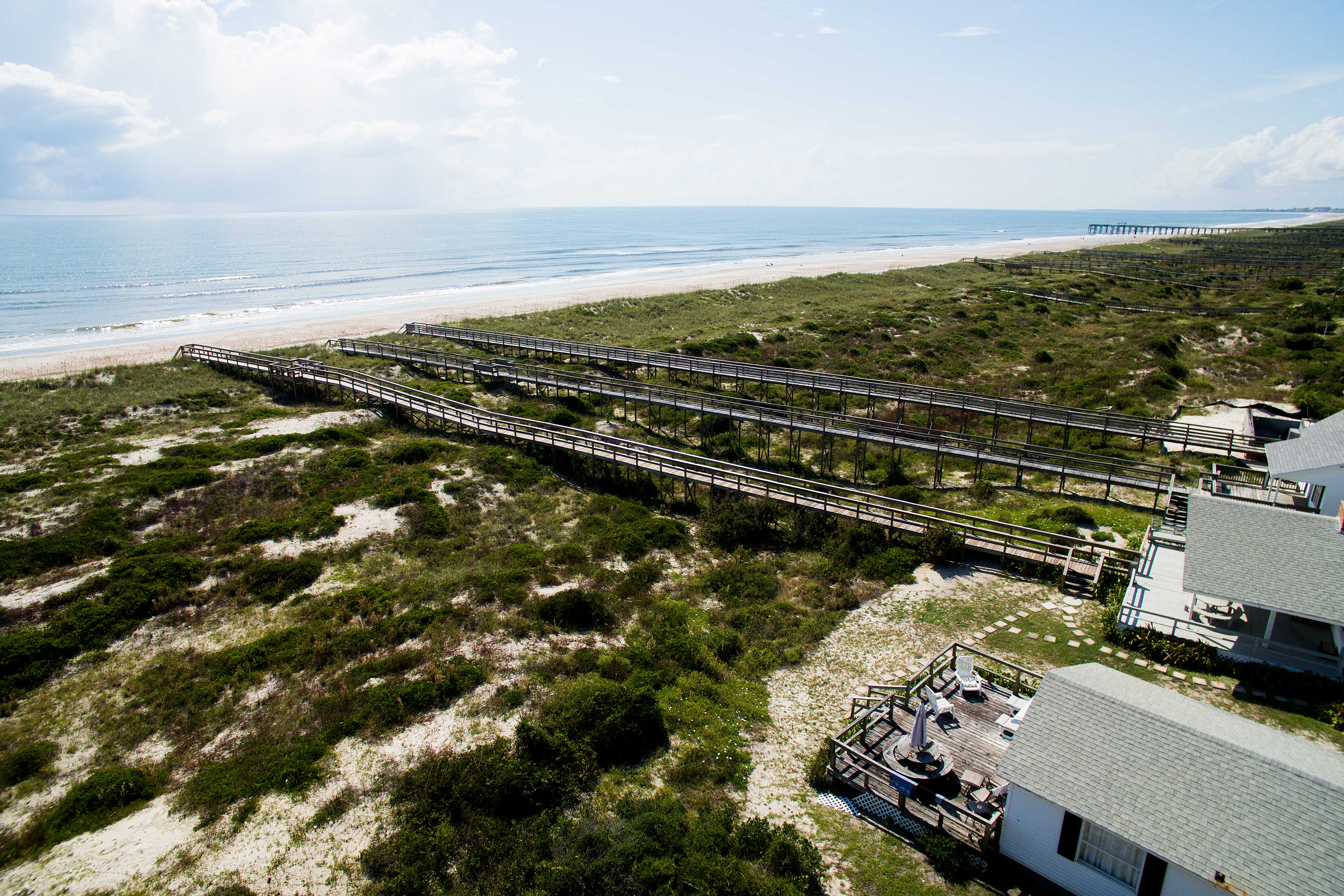 With a private walkway to the beach, what more could you ask for?