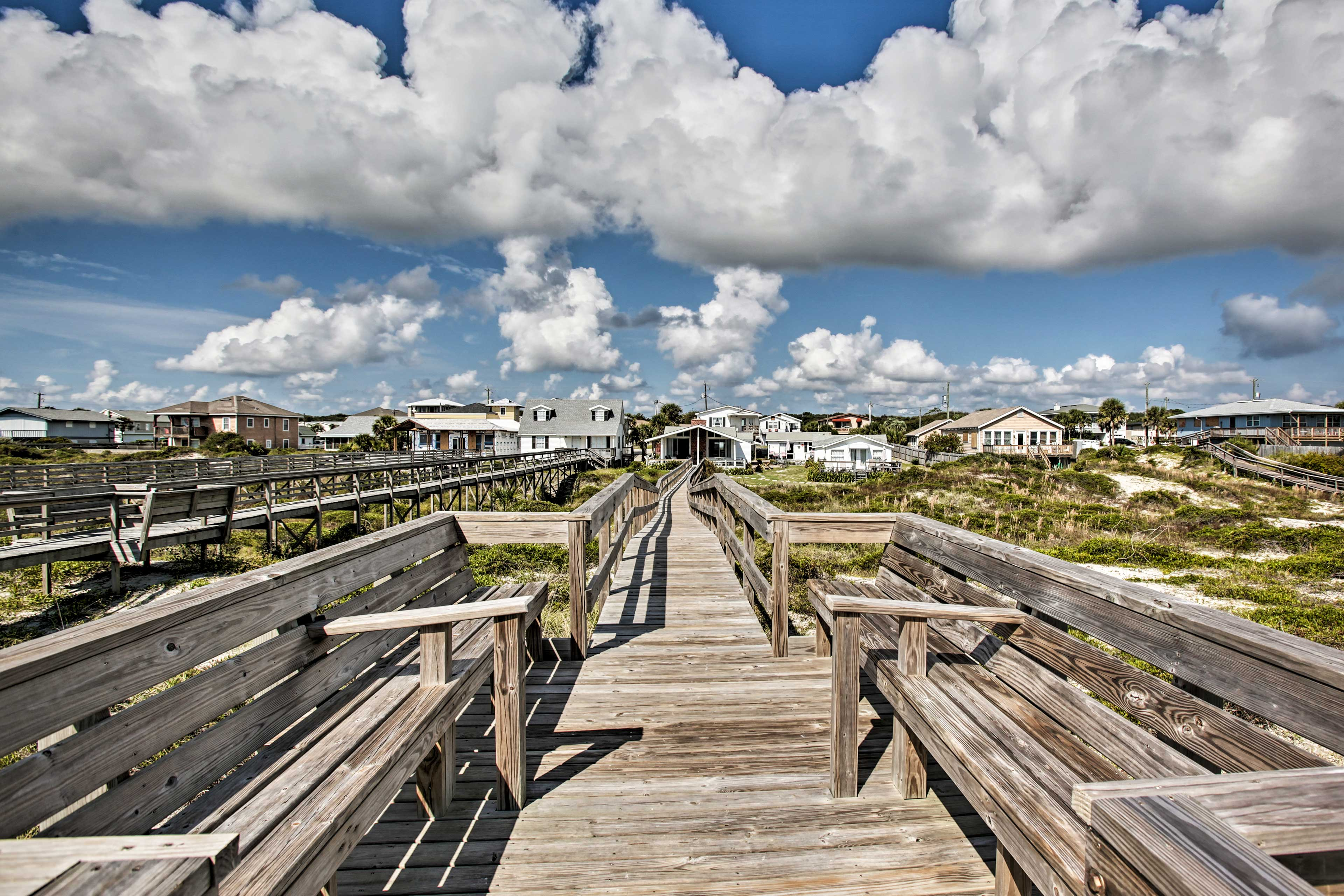 Spend the day swimming or relaxing along the peaceful Atlantic Coast!