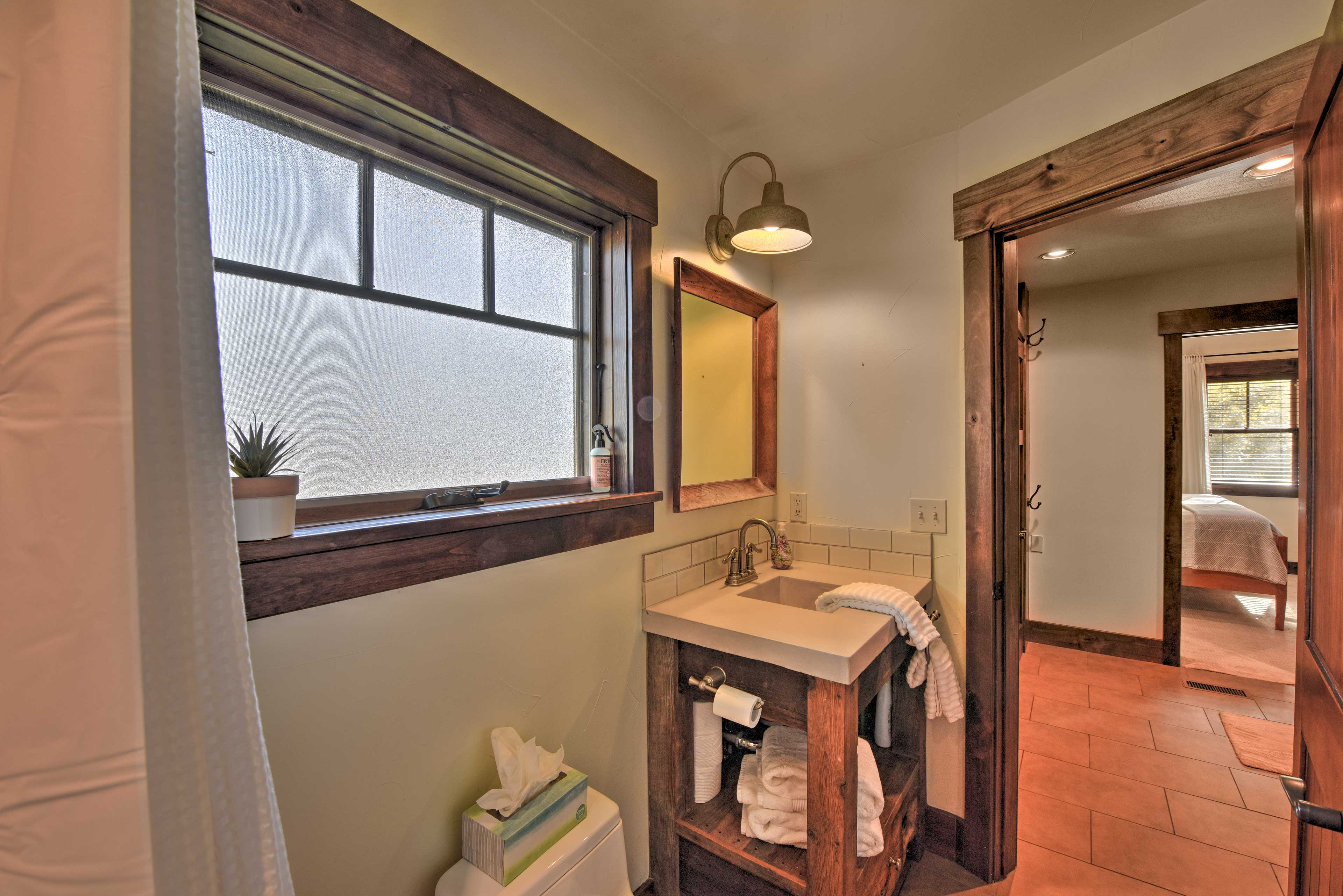 First Full Bathroom | Complimentary Toiletries