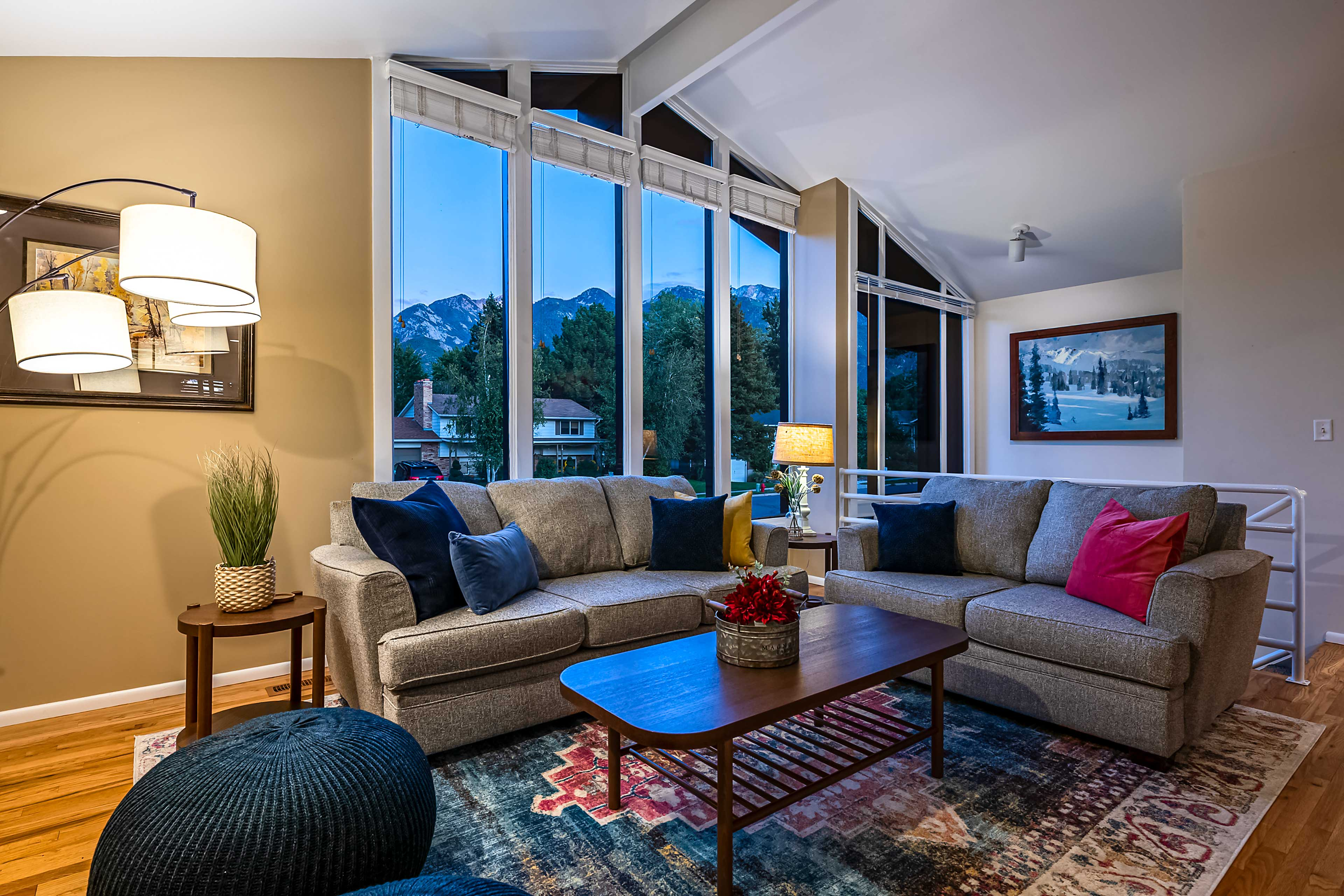 Live like the locals and see the mountains from your window in Sandy.