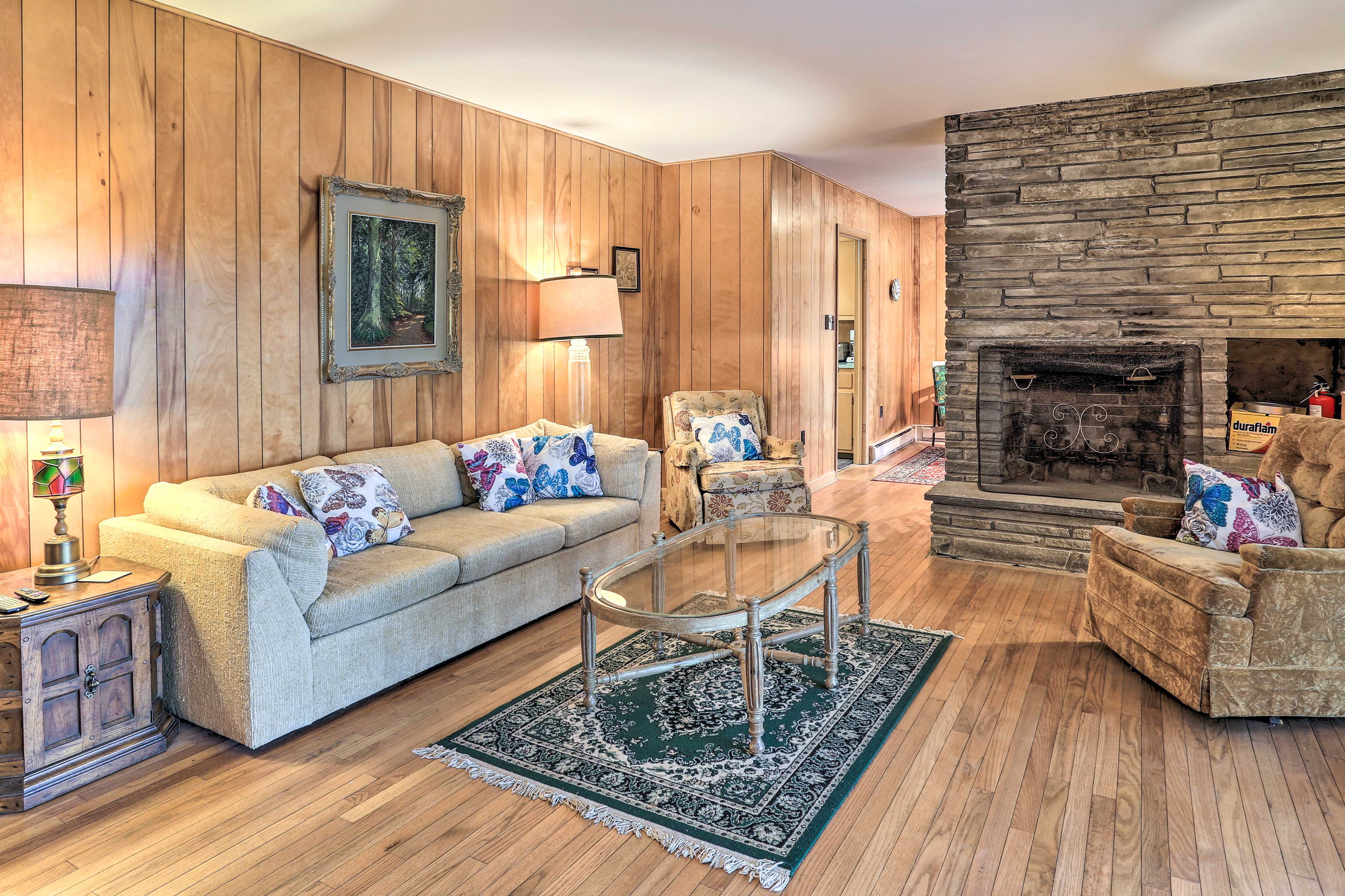 Unwind inside this vacation rental in between trips to the nearby attractions!
