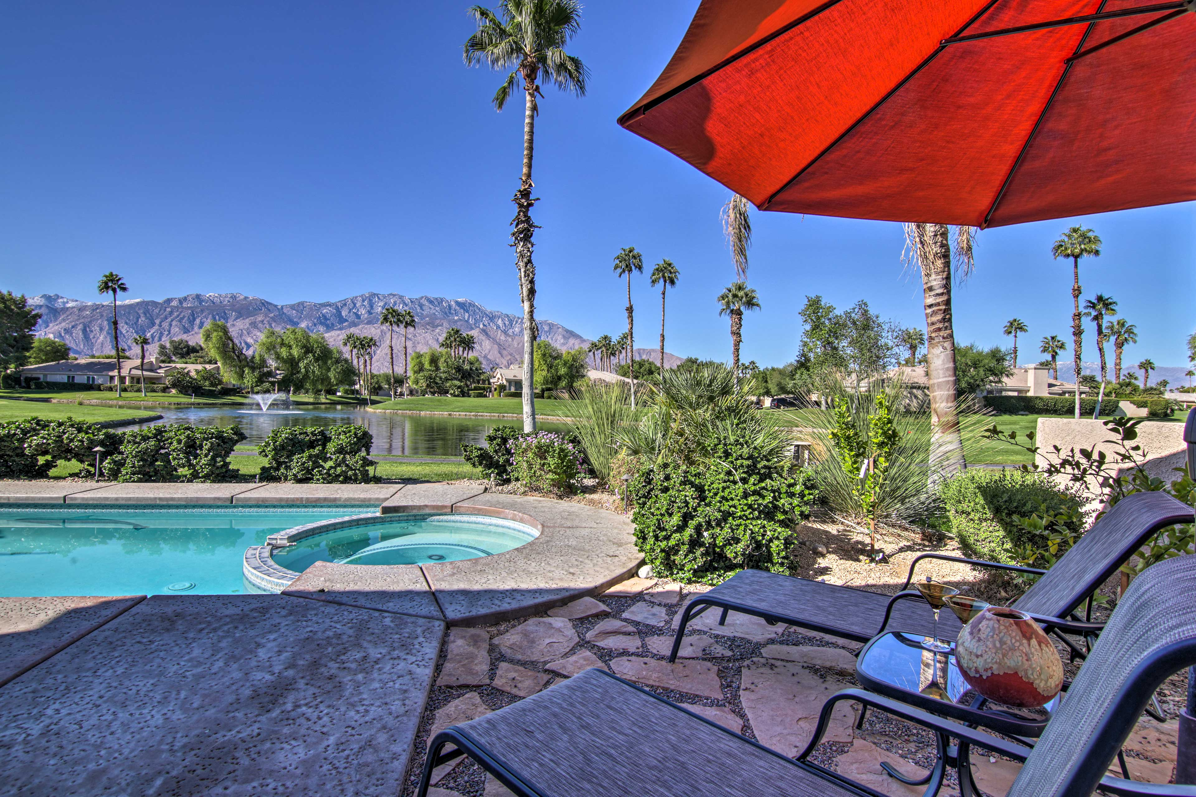 Palm Springs Vacation Rental House   2BR   2.5BA   6 Guests   1,604 Sq Ft