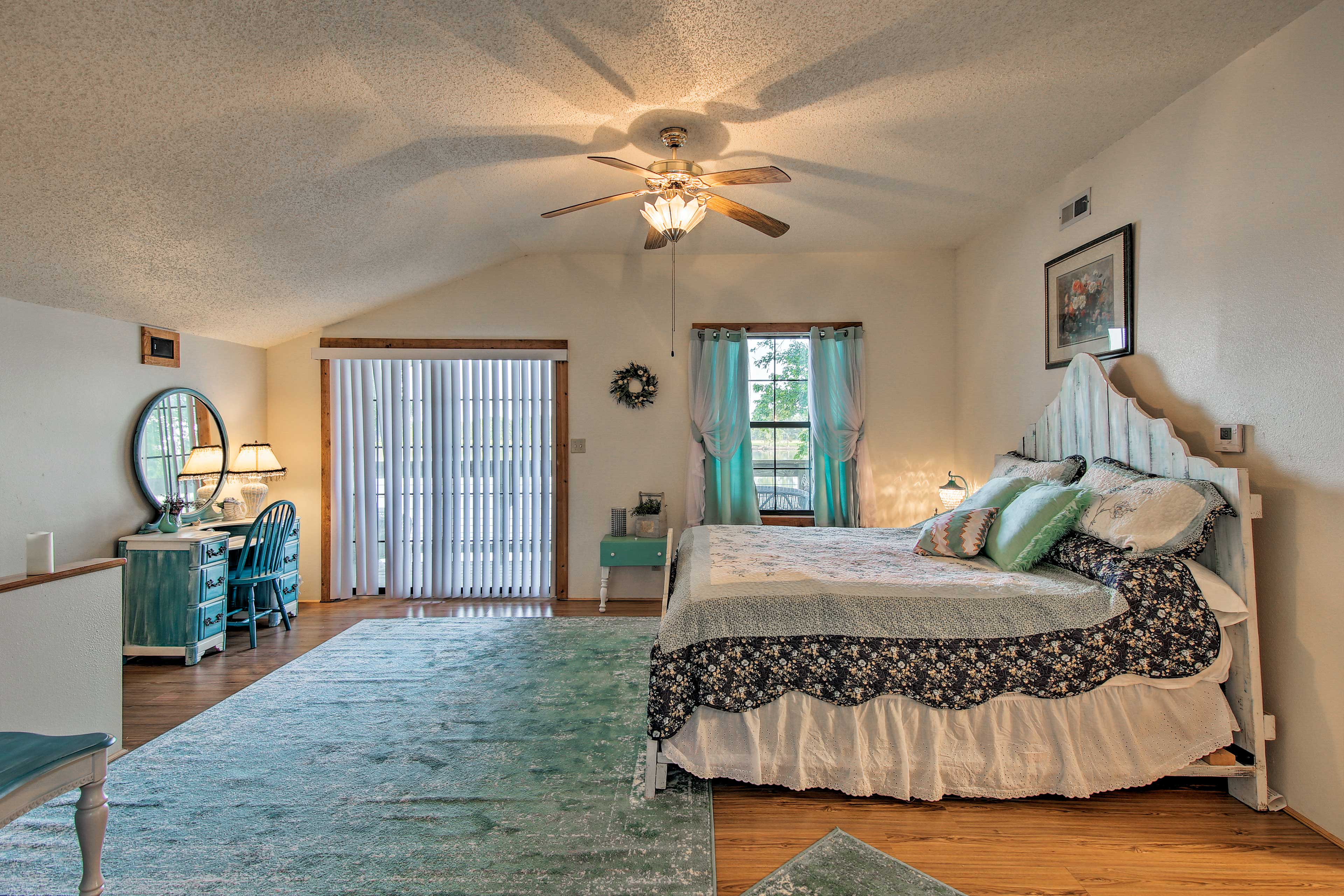 Sleep peacefully in this large upstairs bedroom.