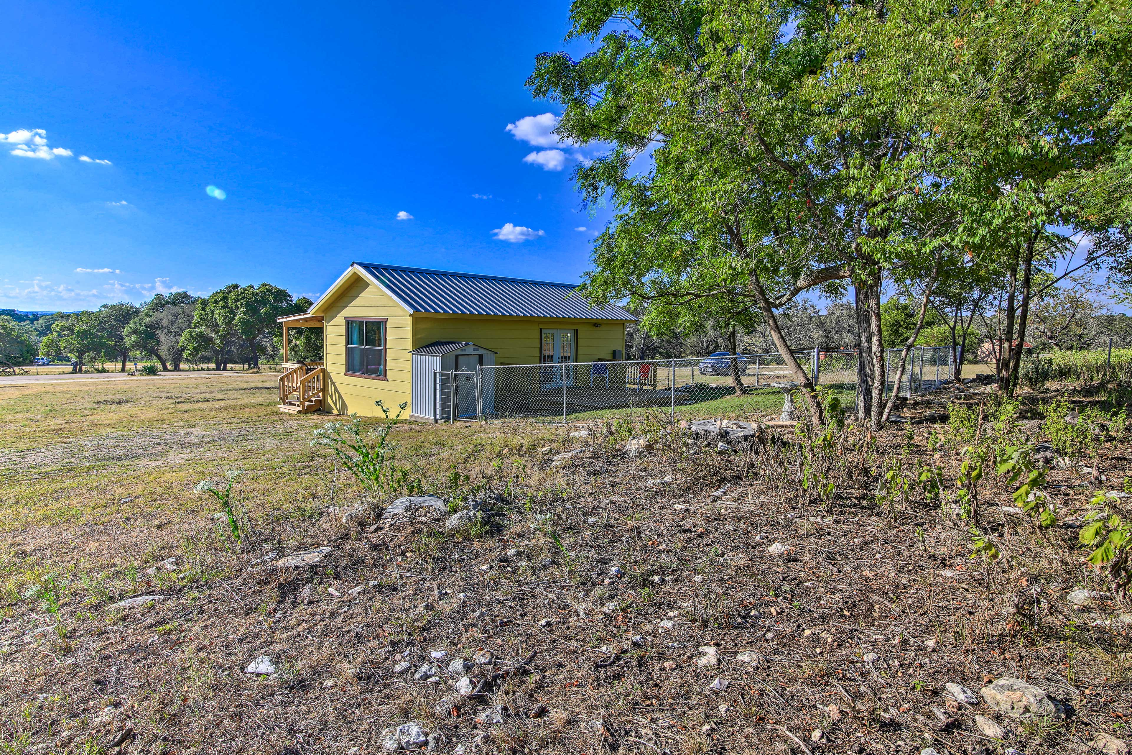 You'll be surrounded by beautiful Texas Hill Country views.