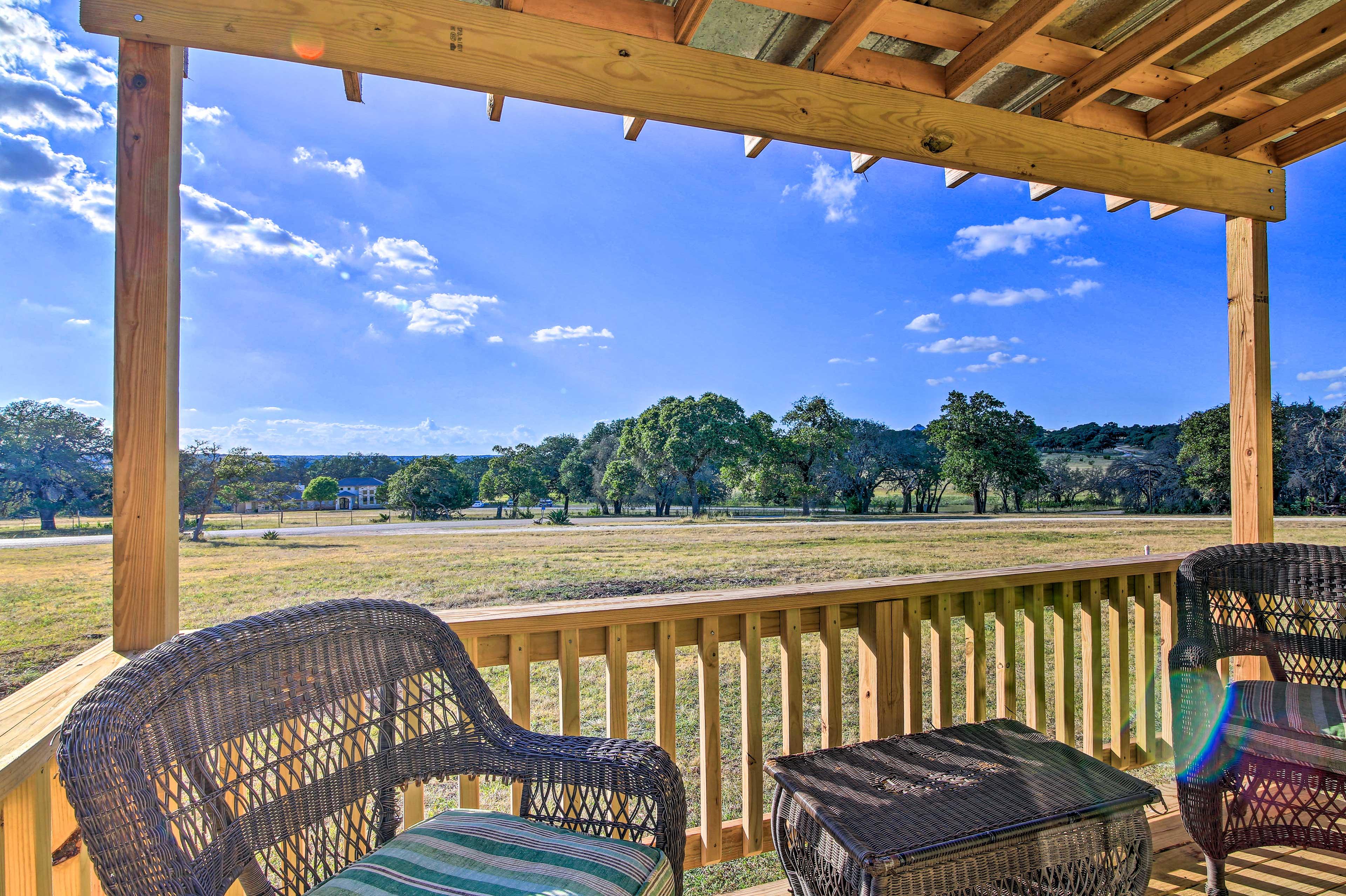Book your Fredericksburg getaway to this 1-bathroom vacation rental studio!