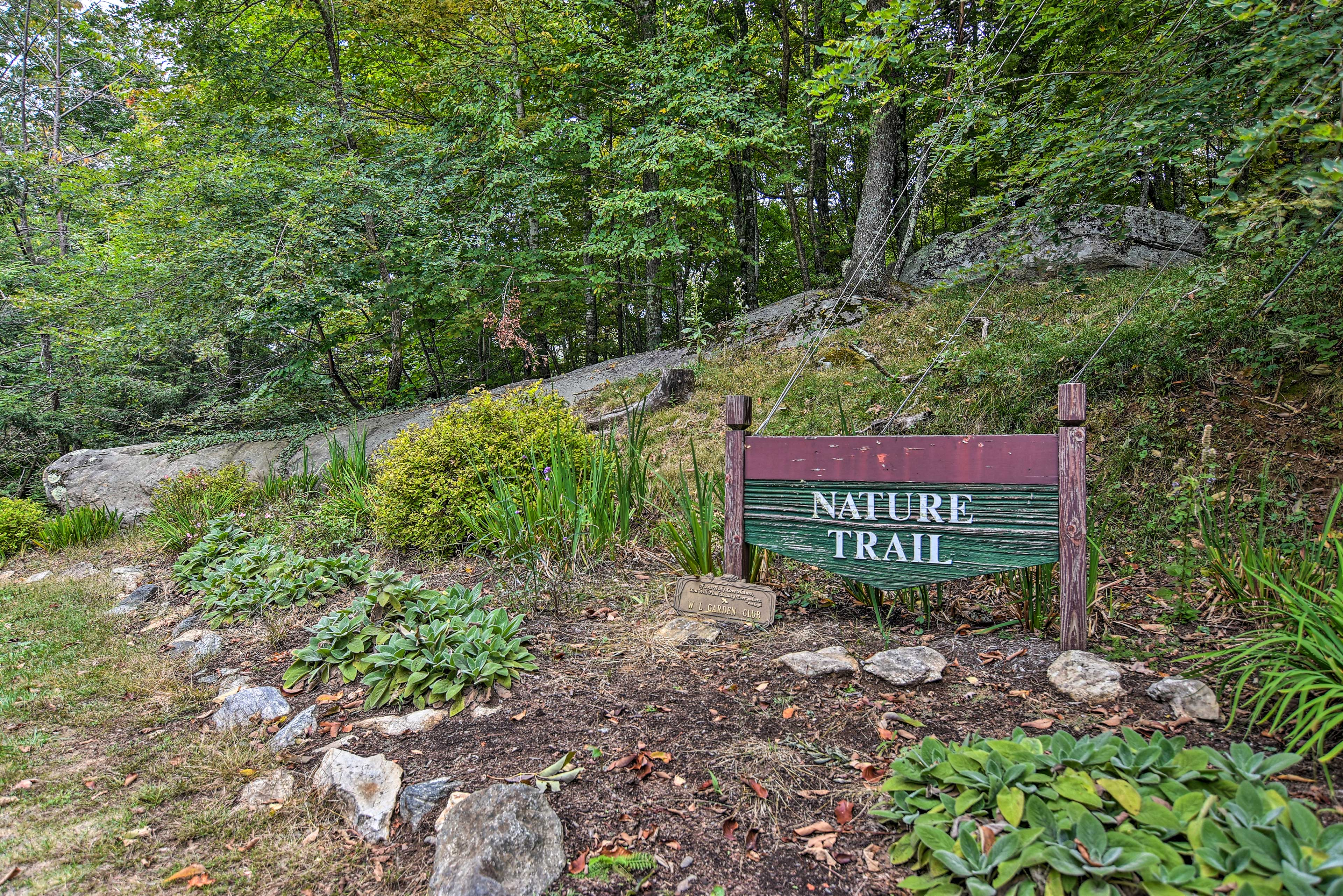 The vacation rental offers access to numerous walking & nature trails.