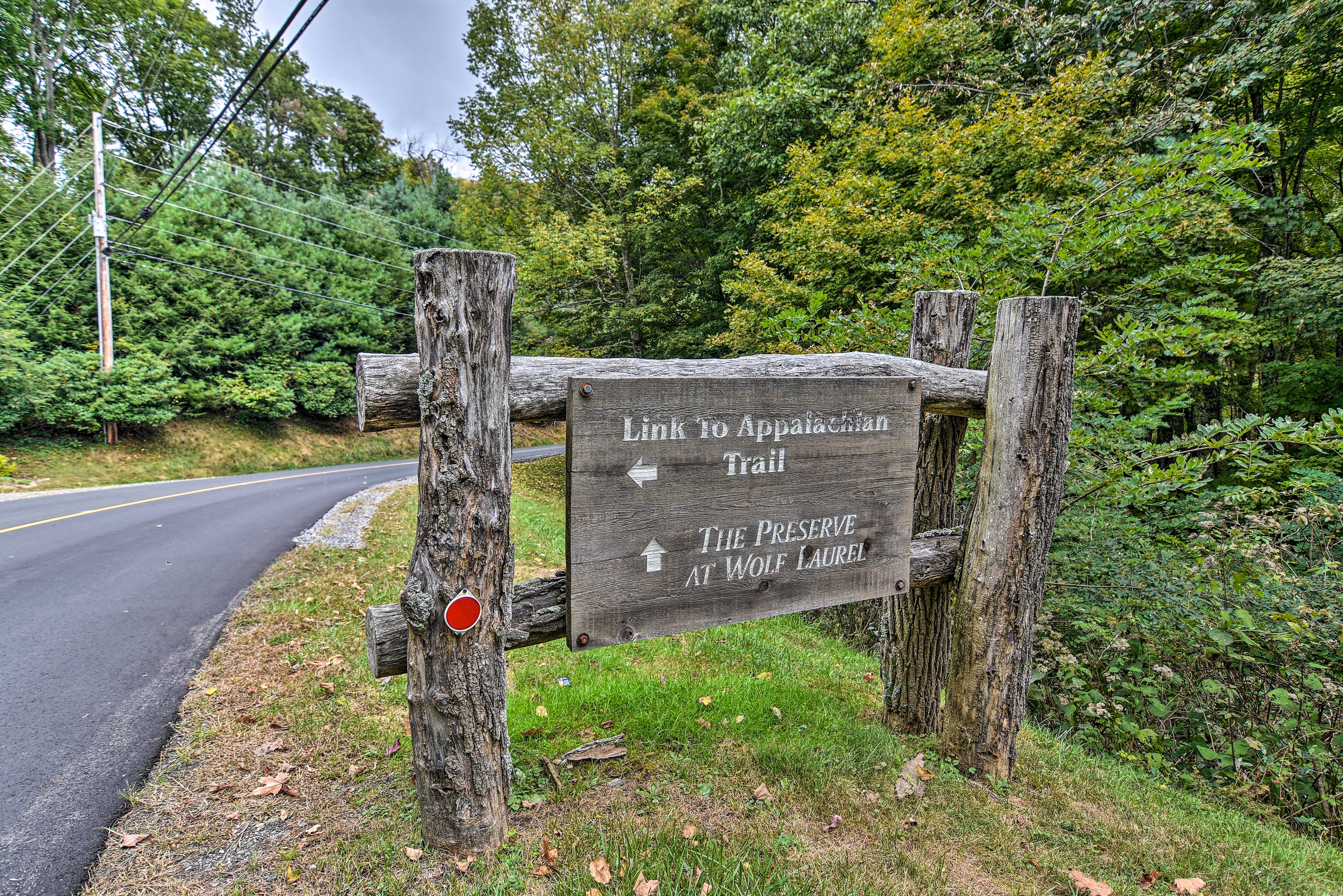 Take a quick drive to one of the 3 Appalachian Trail entrances!
