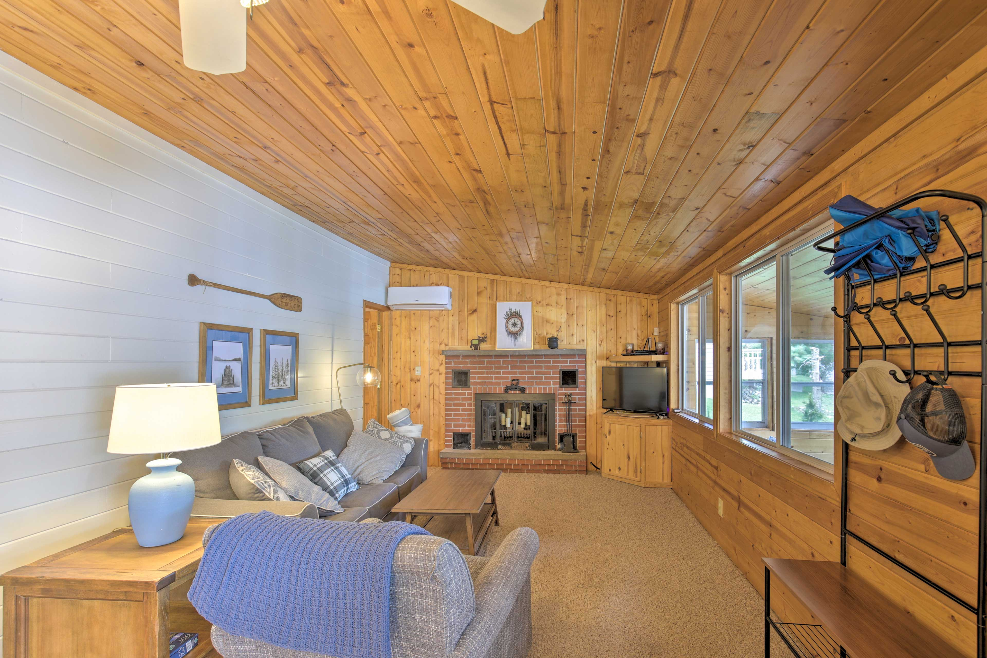 Escape on a Wisconsin getaway at this Nelson Lake vacation rental.