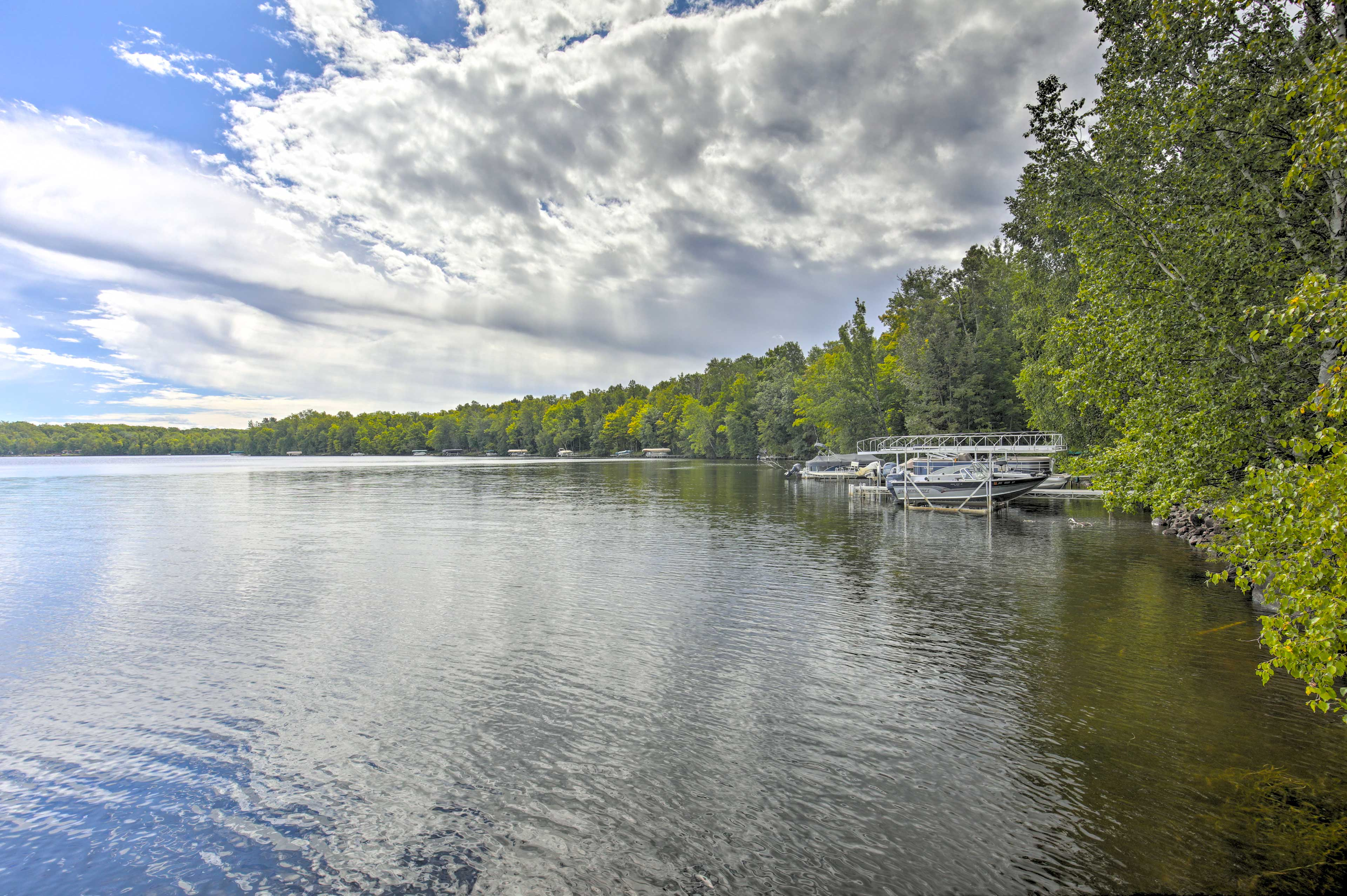 Your lakeside vacation begins at this picturesque retreat!