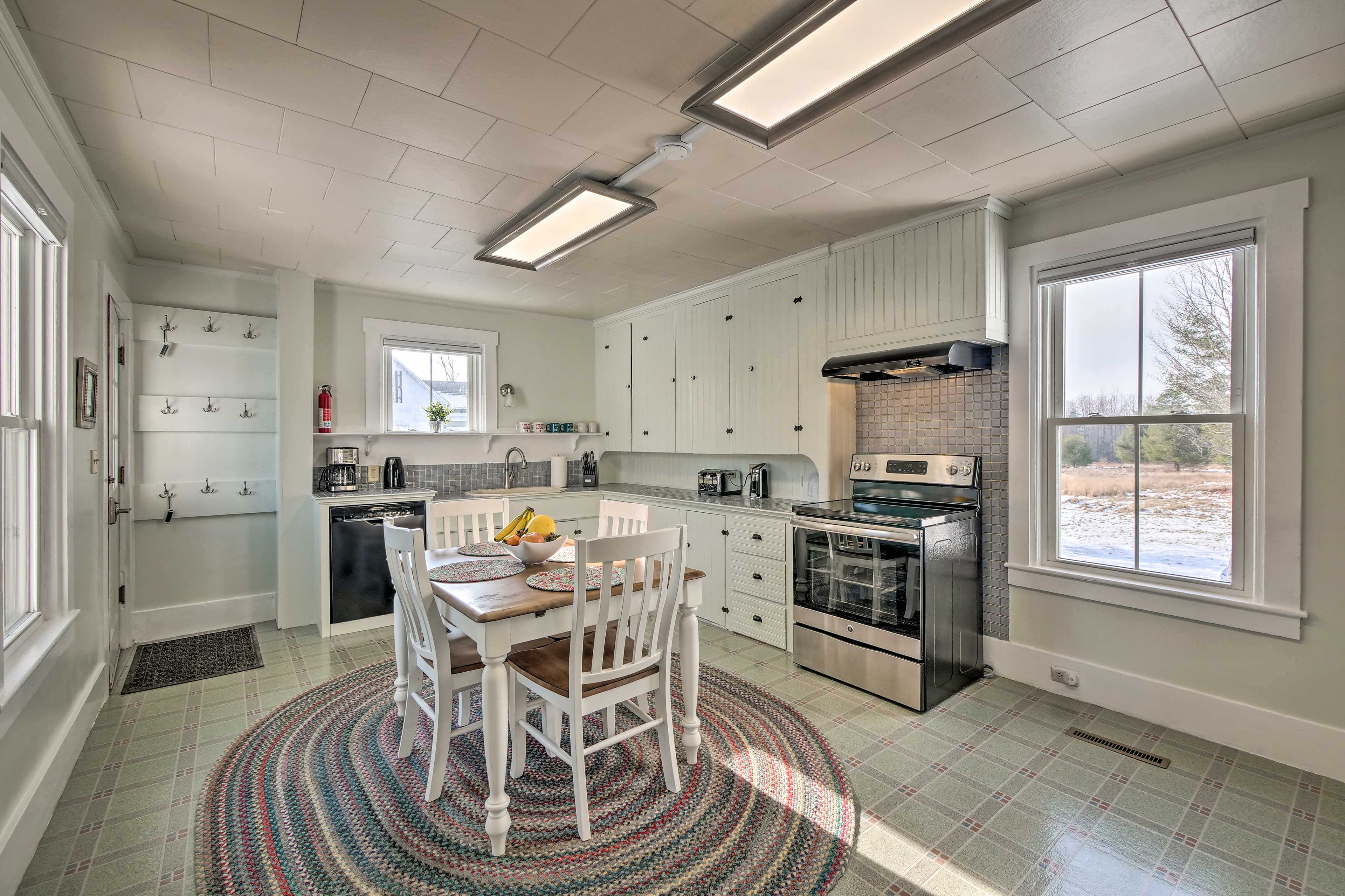 This vacation rental was recently renovated!