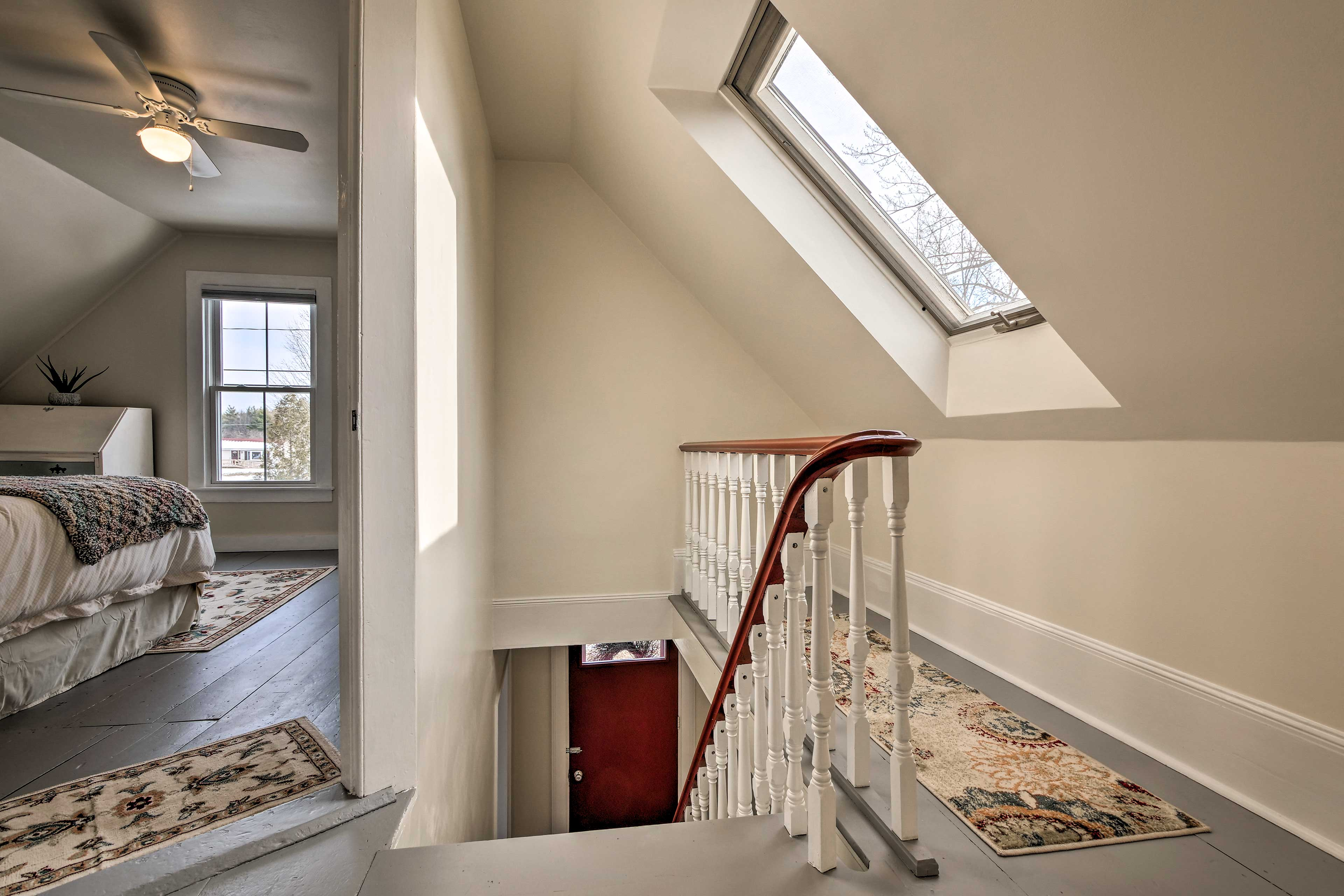 Skylights throughout the house give ample natural light!