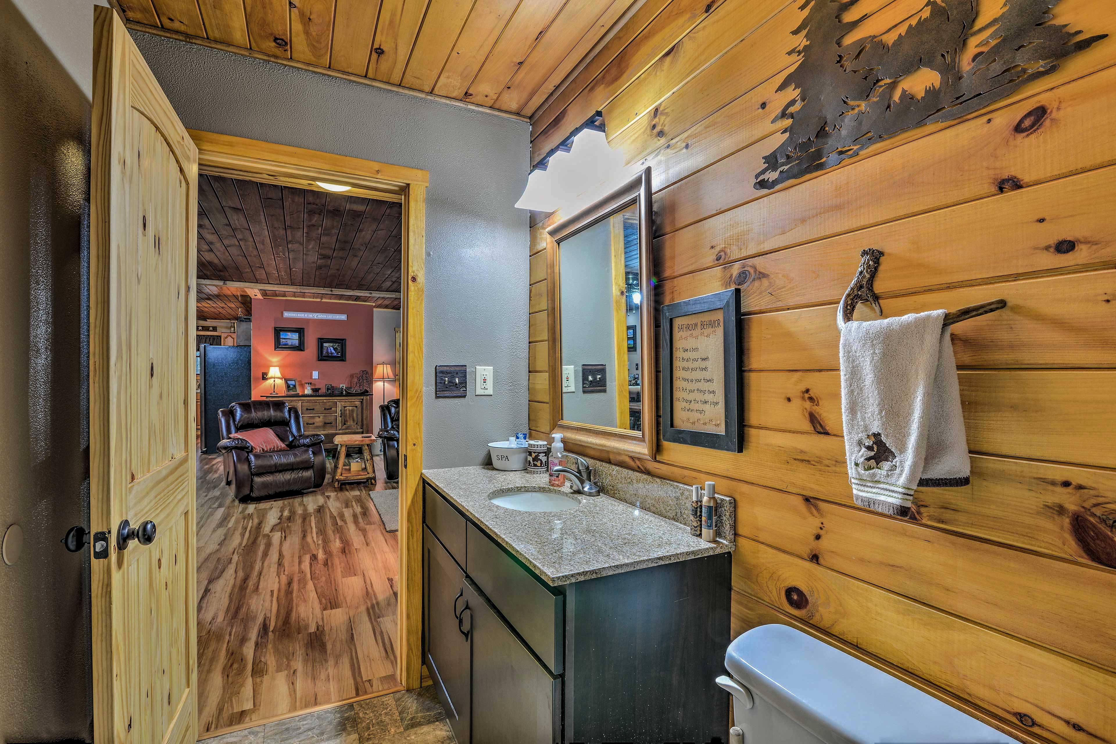 There are 2 full bathrooms in this home.