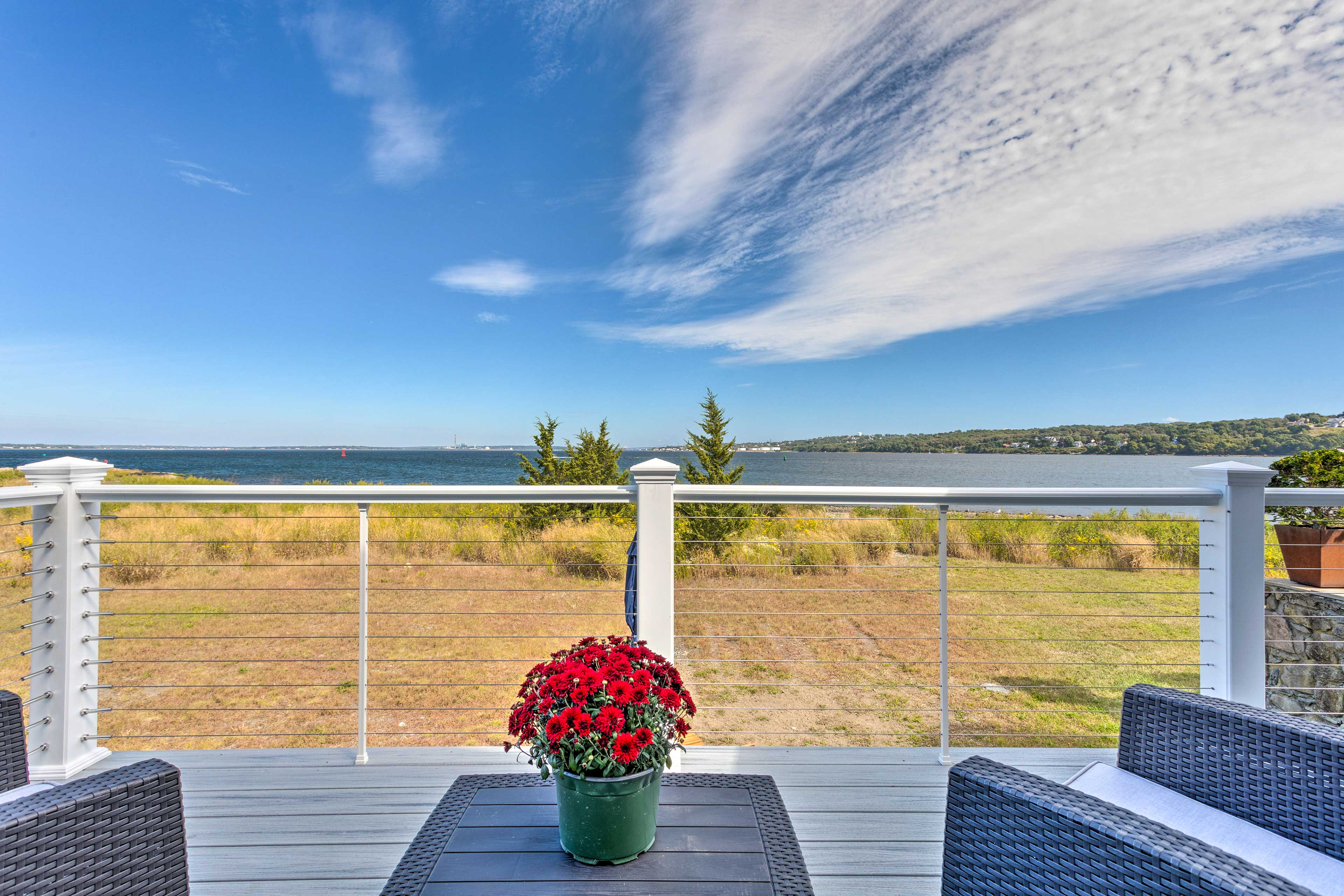 Private Deck   Water Views