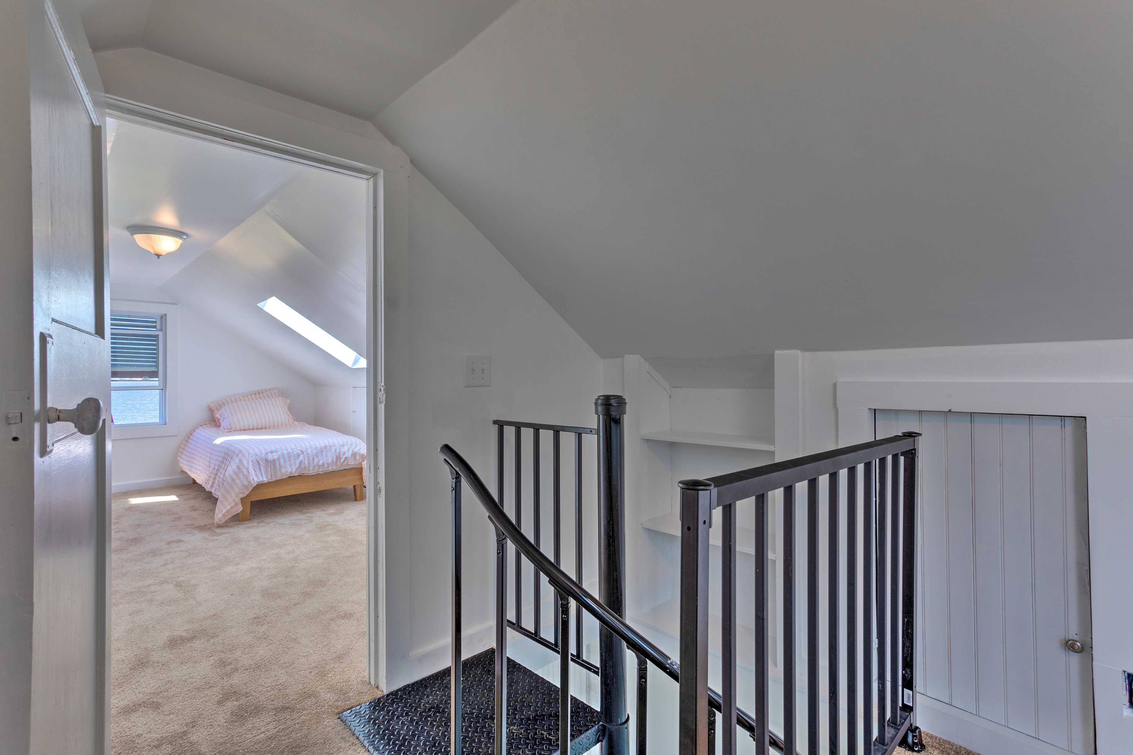 Access to Bedroom 2   Spiral Staircase