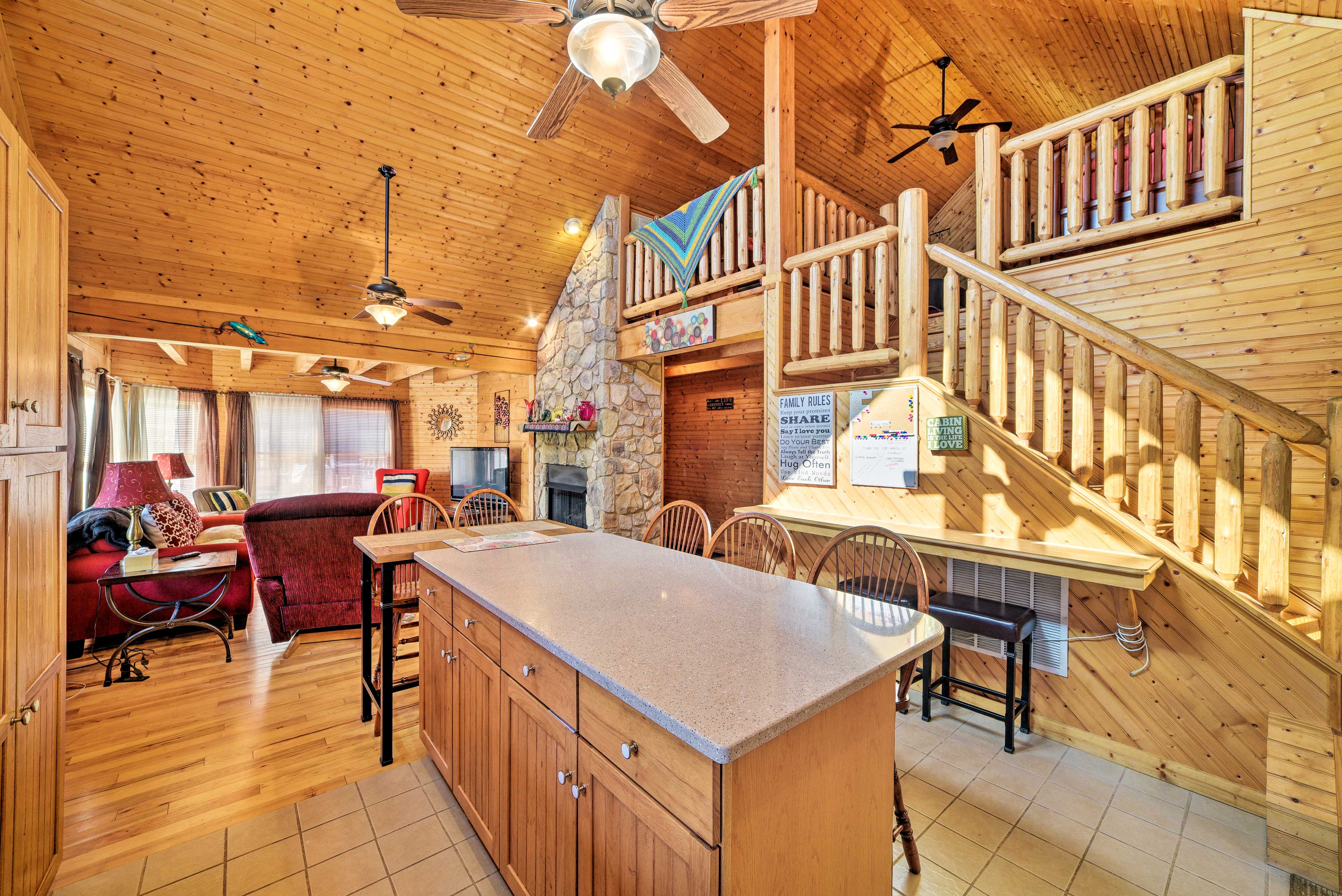 Welcome home to this 1-bedroom, 1-bathroom cabin in the hills of Luray.