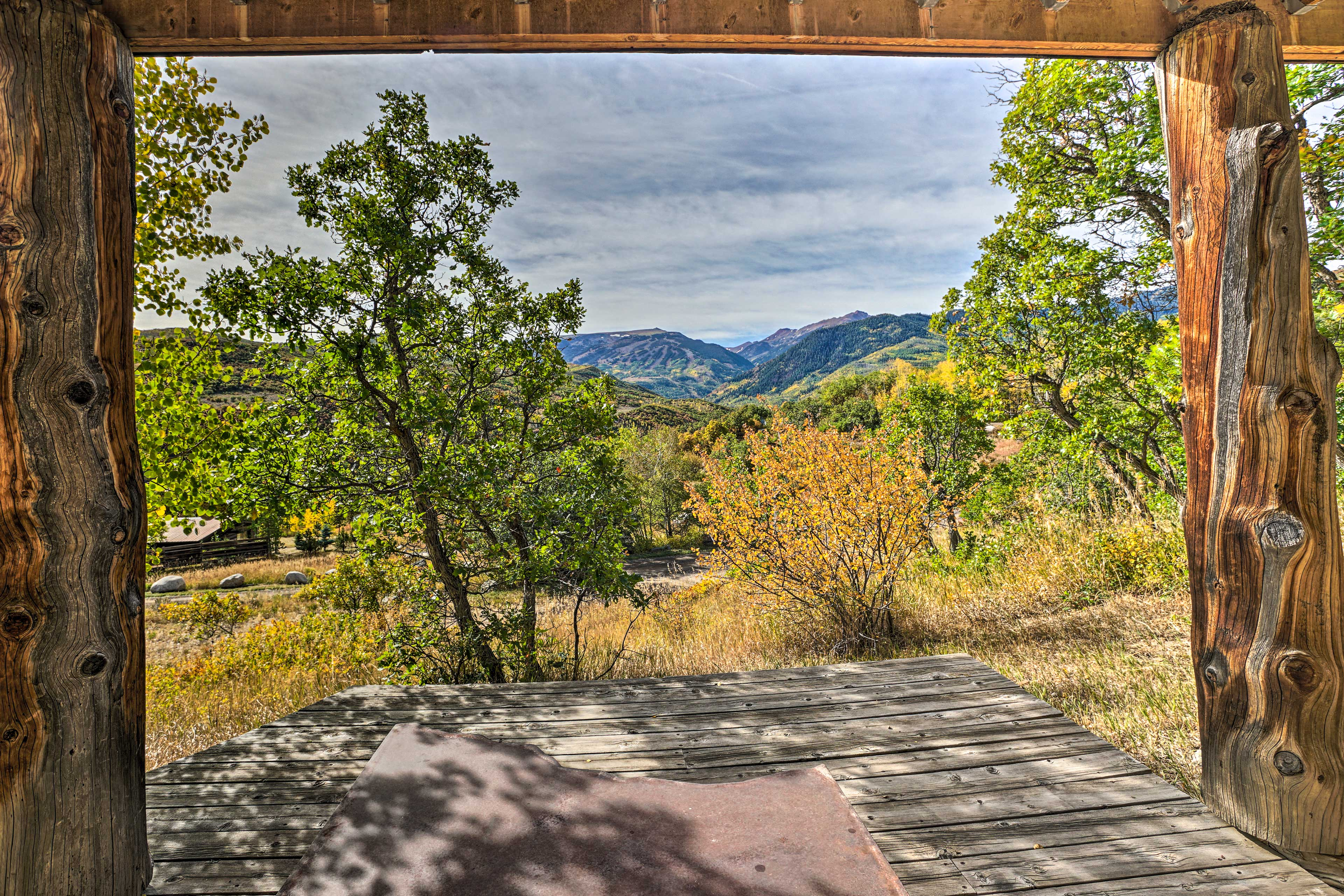 Breathe in the fresh mountain air as you take in all that the area has to offer.