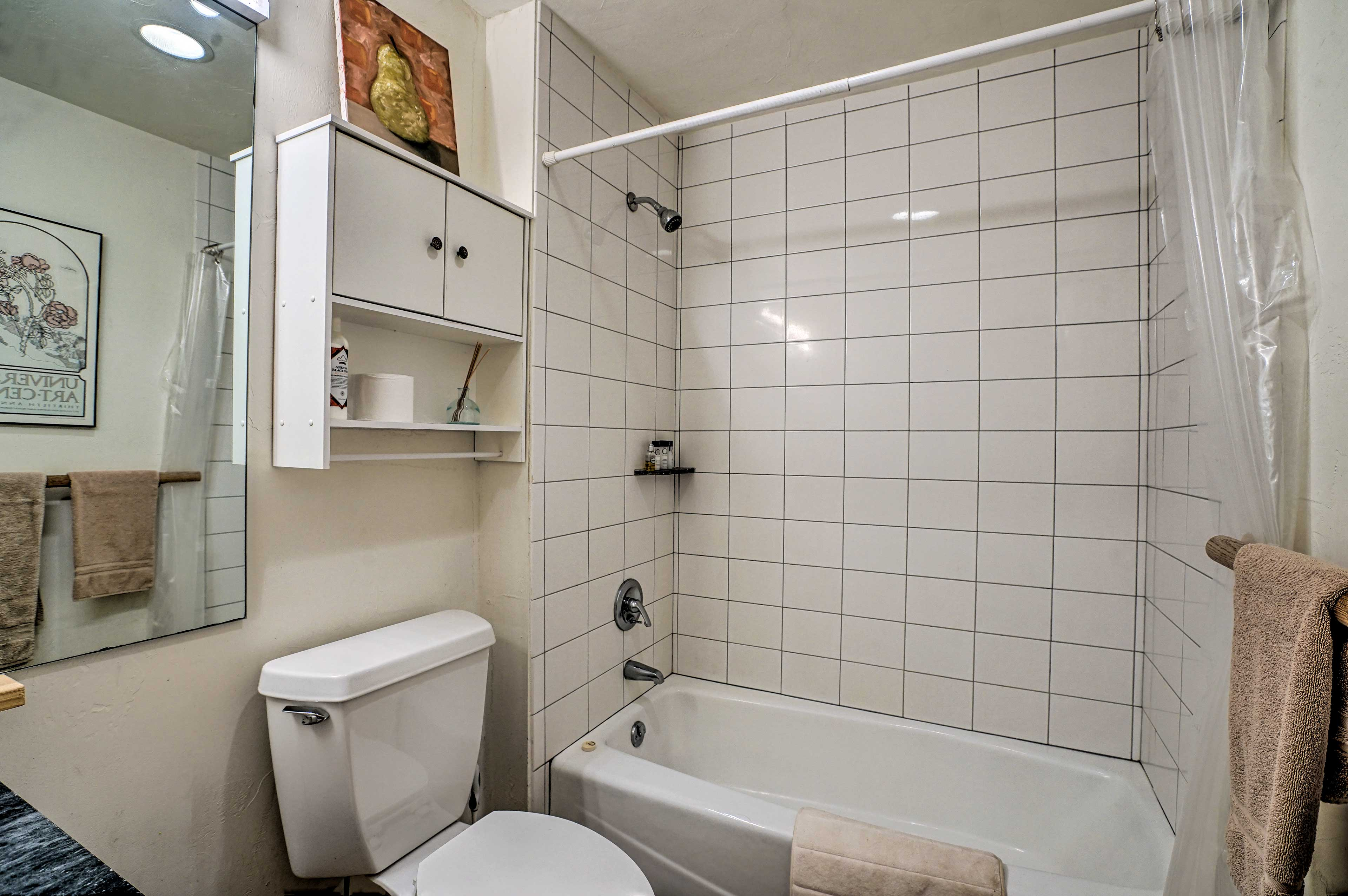 This vacation rental features 1 full bathroom!