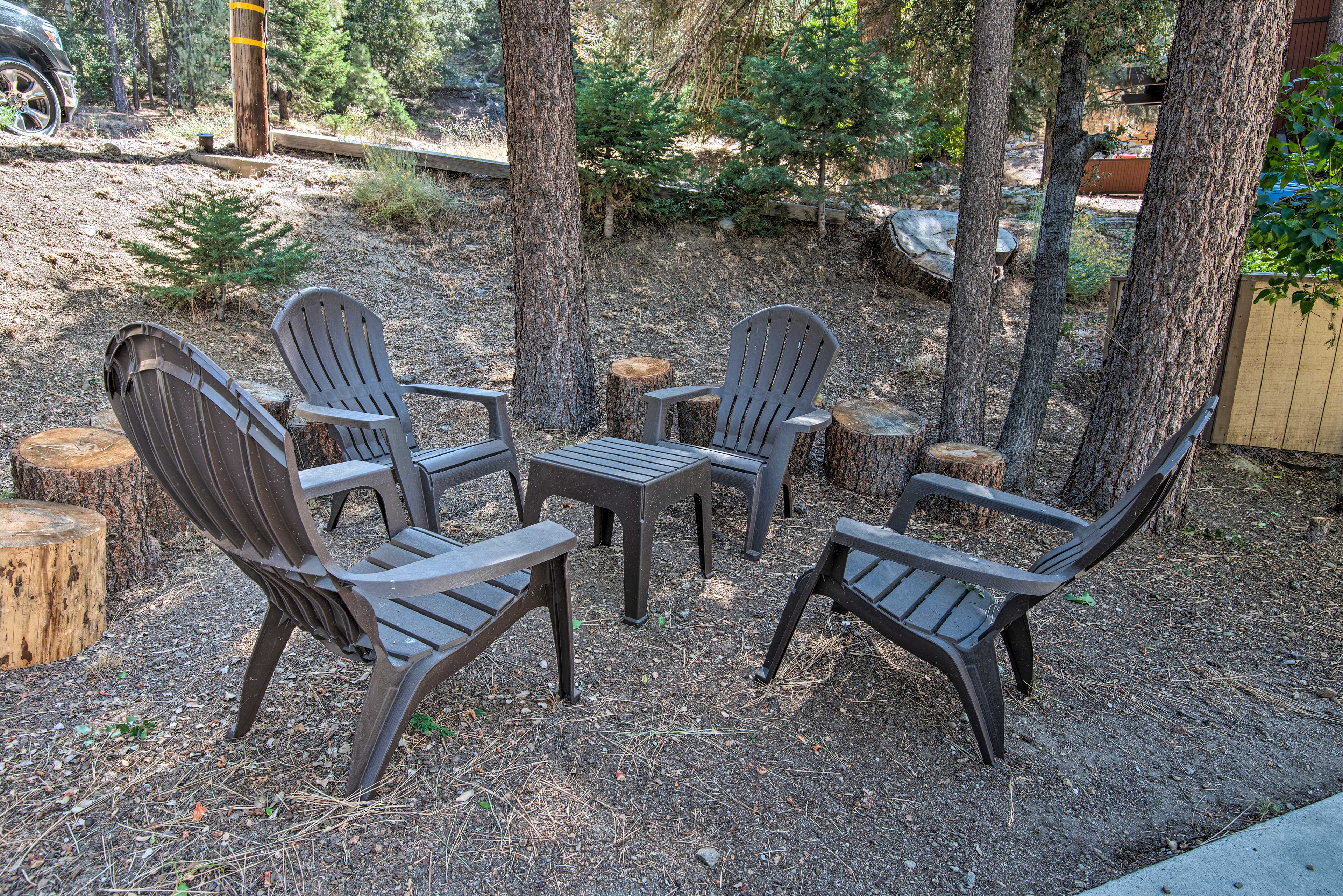 Relax outdoors with loved ones.