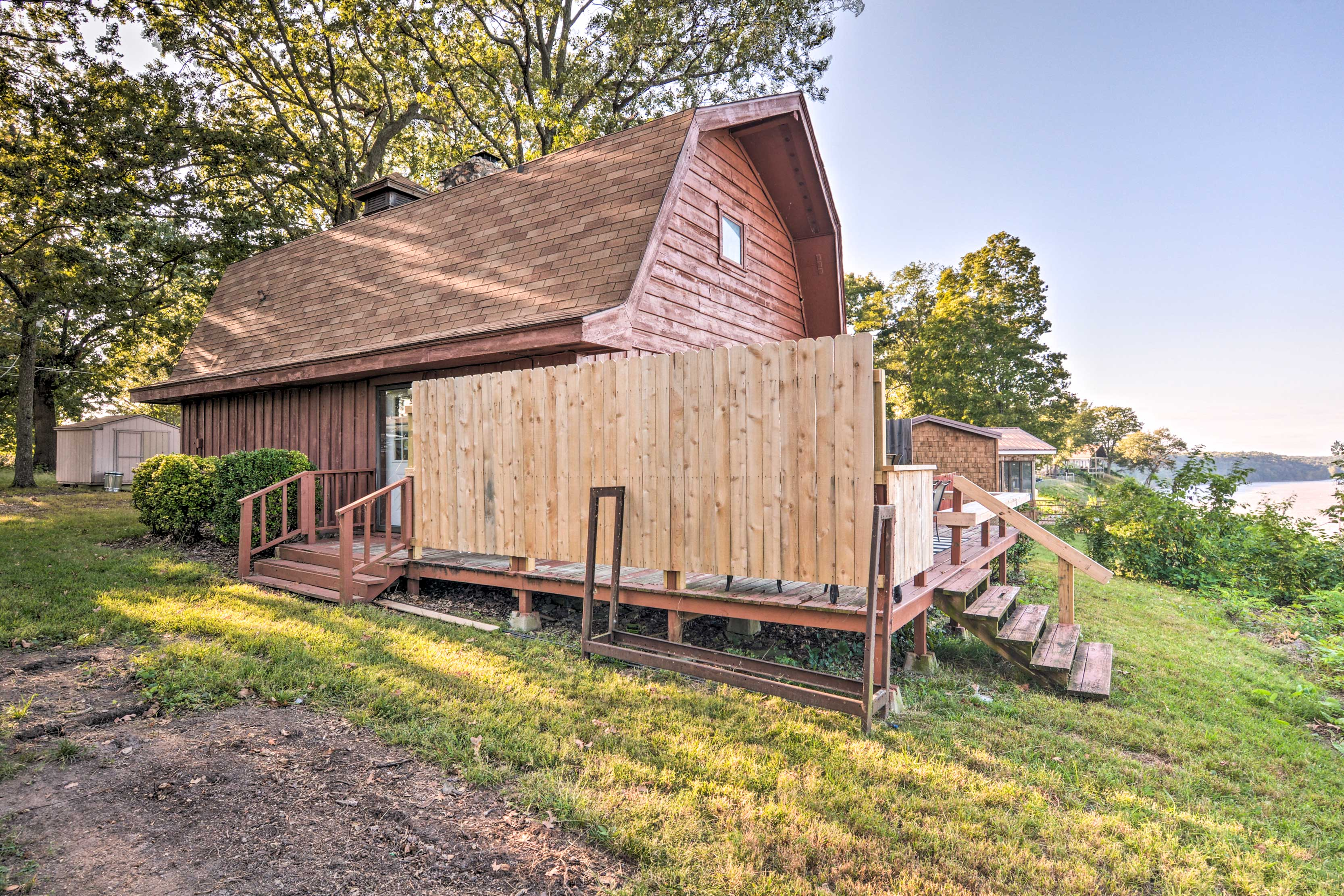 Exterior | Private Deck | Privacy Fence
