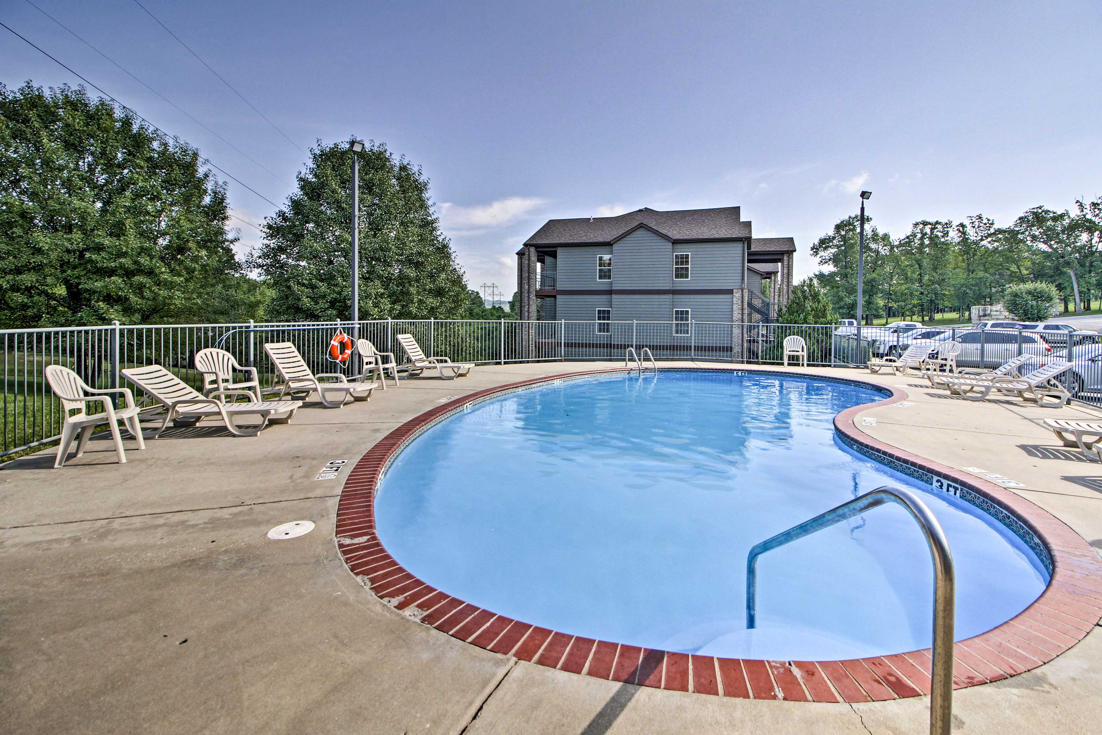 Spend a sunny afternoon out at the community pool.