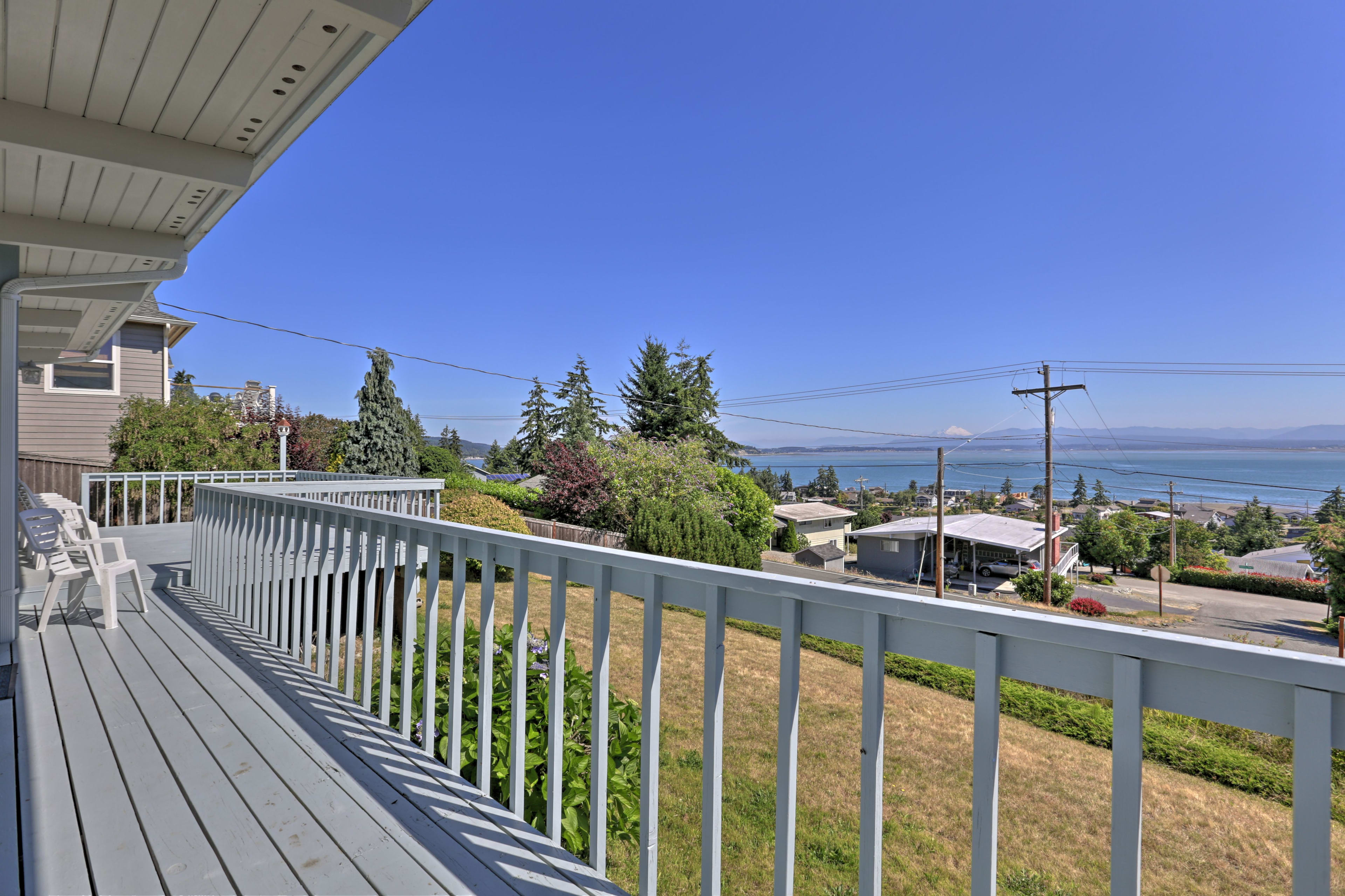 Located on Camano Island, you'll find grand adventure near this vacation rental!