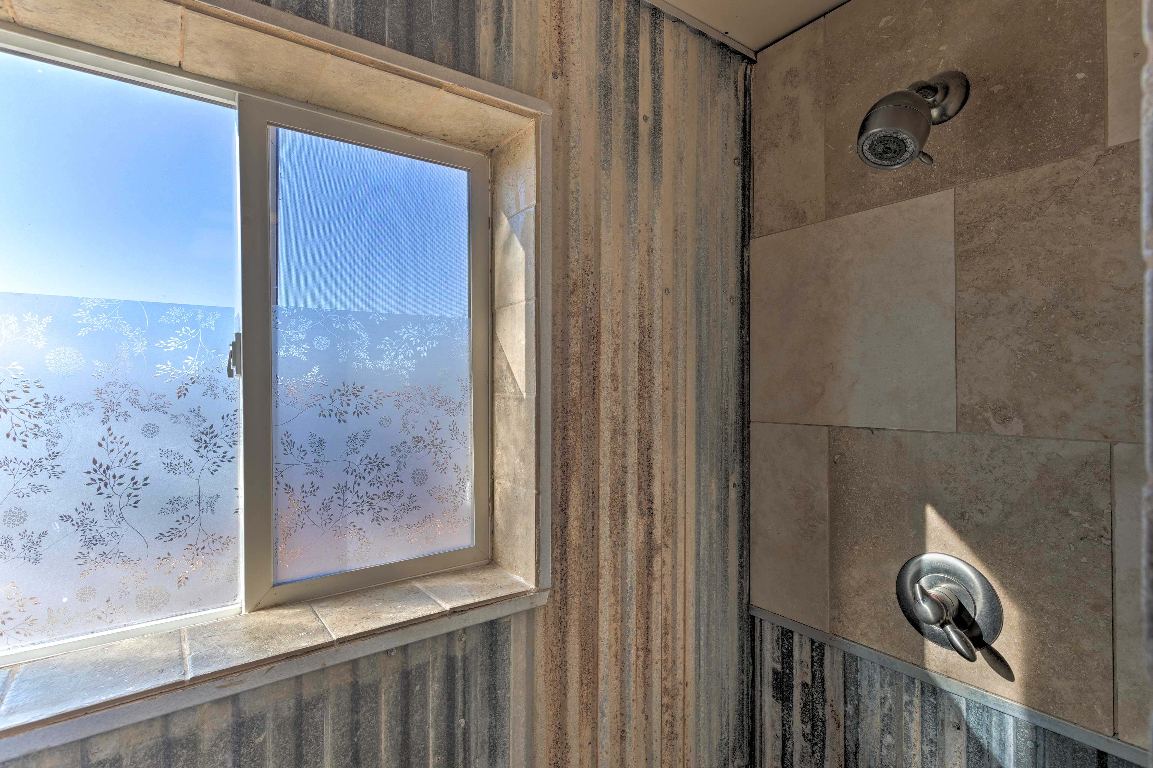 Turn up the heat for an extra steamy shower.