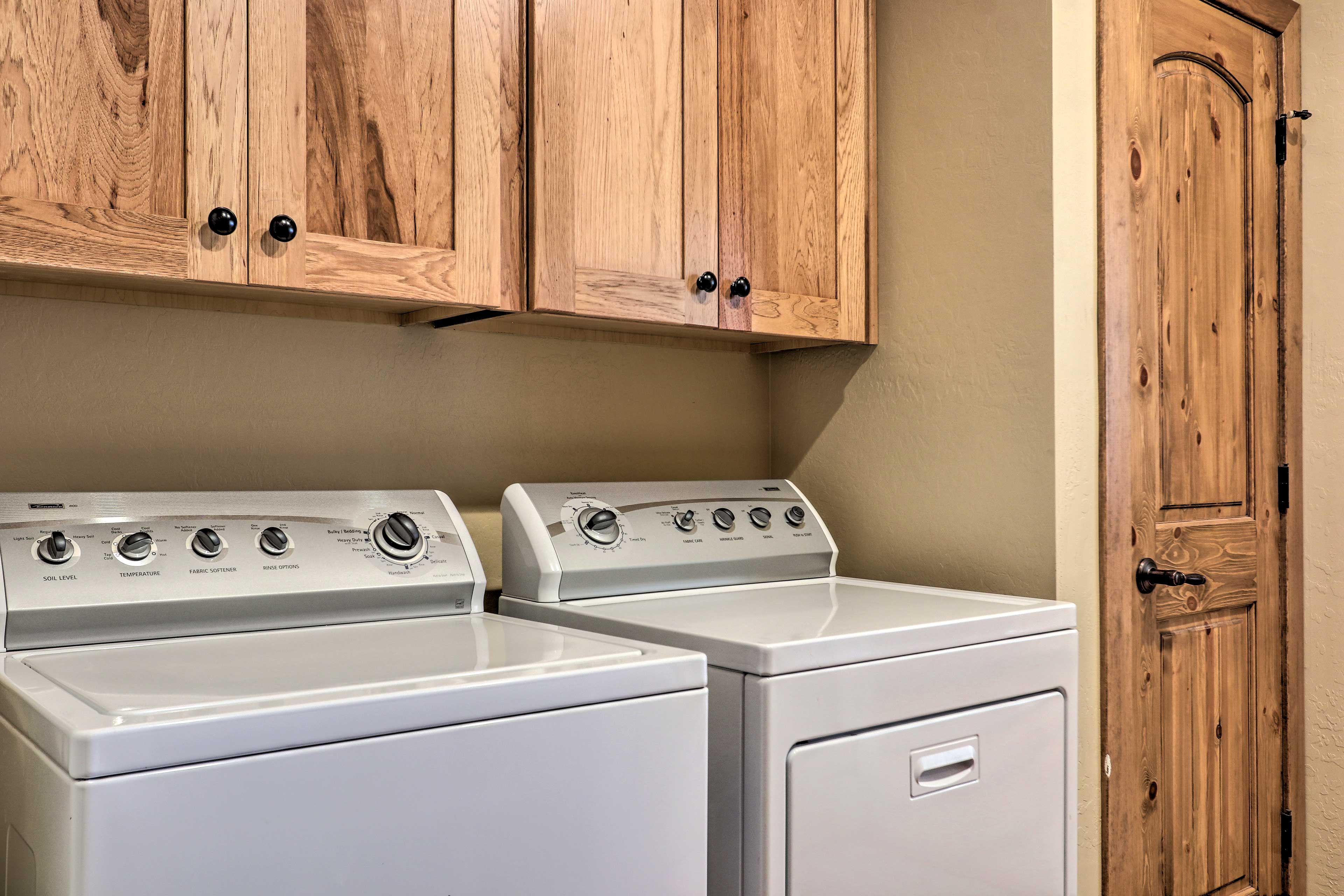 Give adventure gear a spin through the in-home laundry machines.