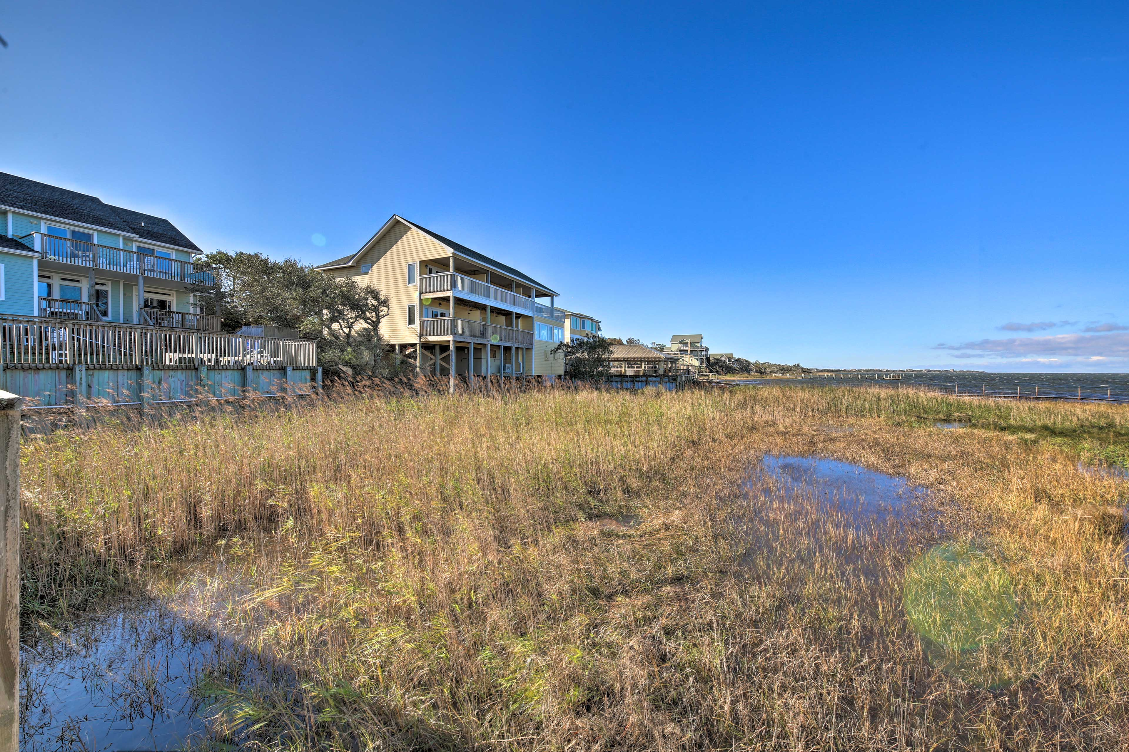 Make this Buxton cottage your Outer Banks home-away-from-home!