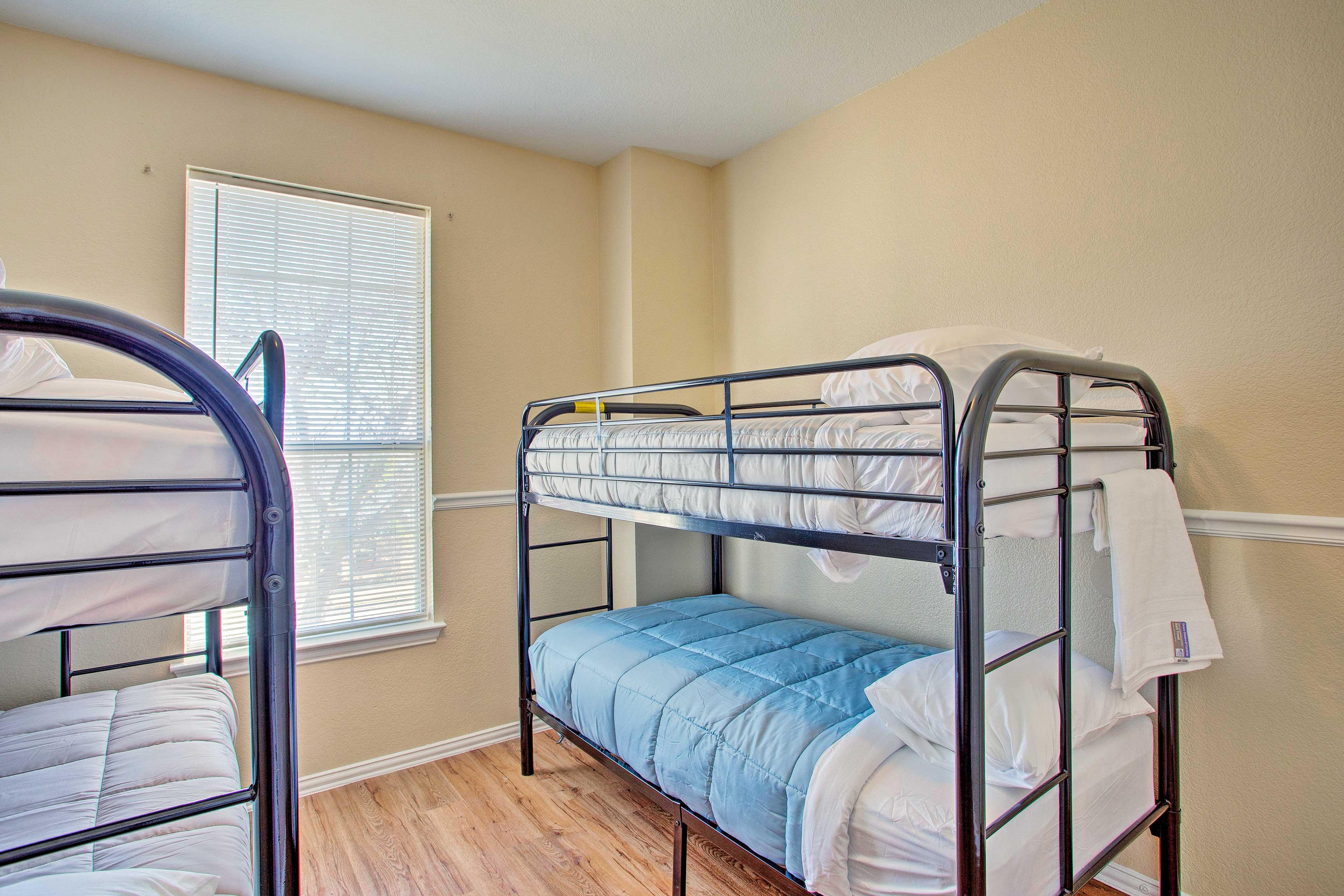 The kids will love having a sleepover in bedroom 4!