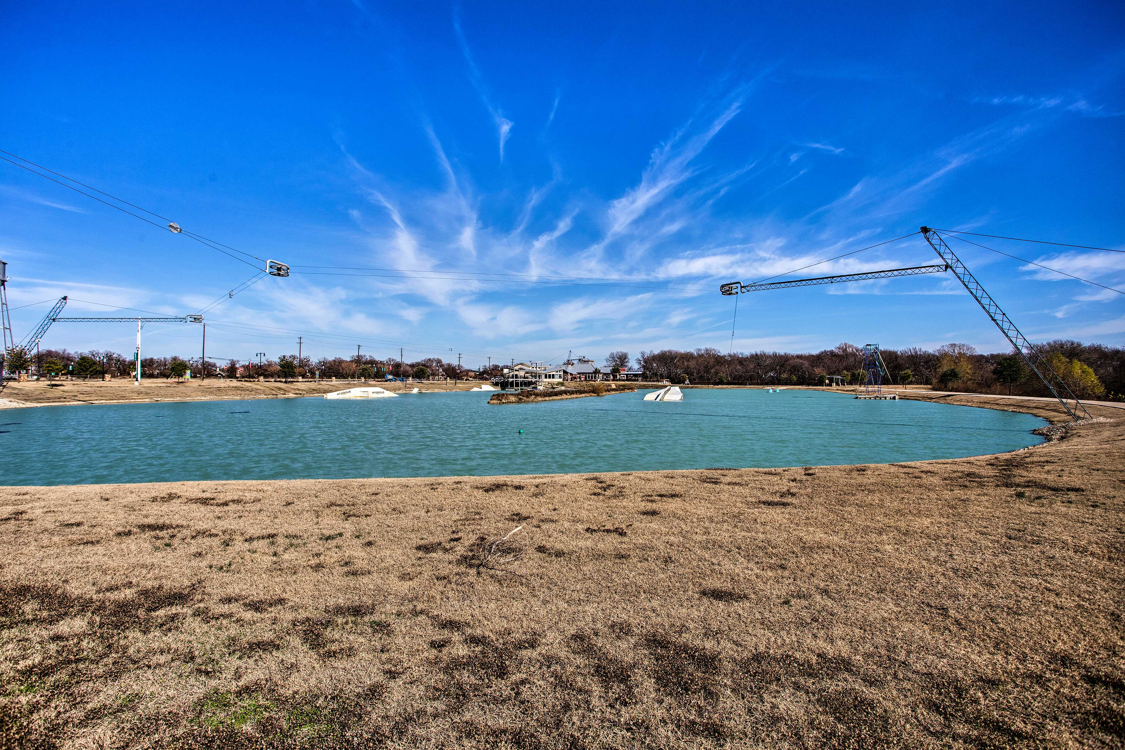 Your Little Elm home is just a few hundred feet from Lewisville Lake.