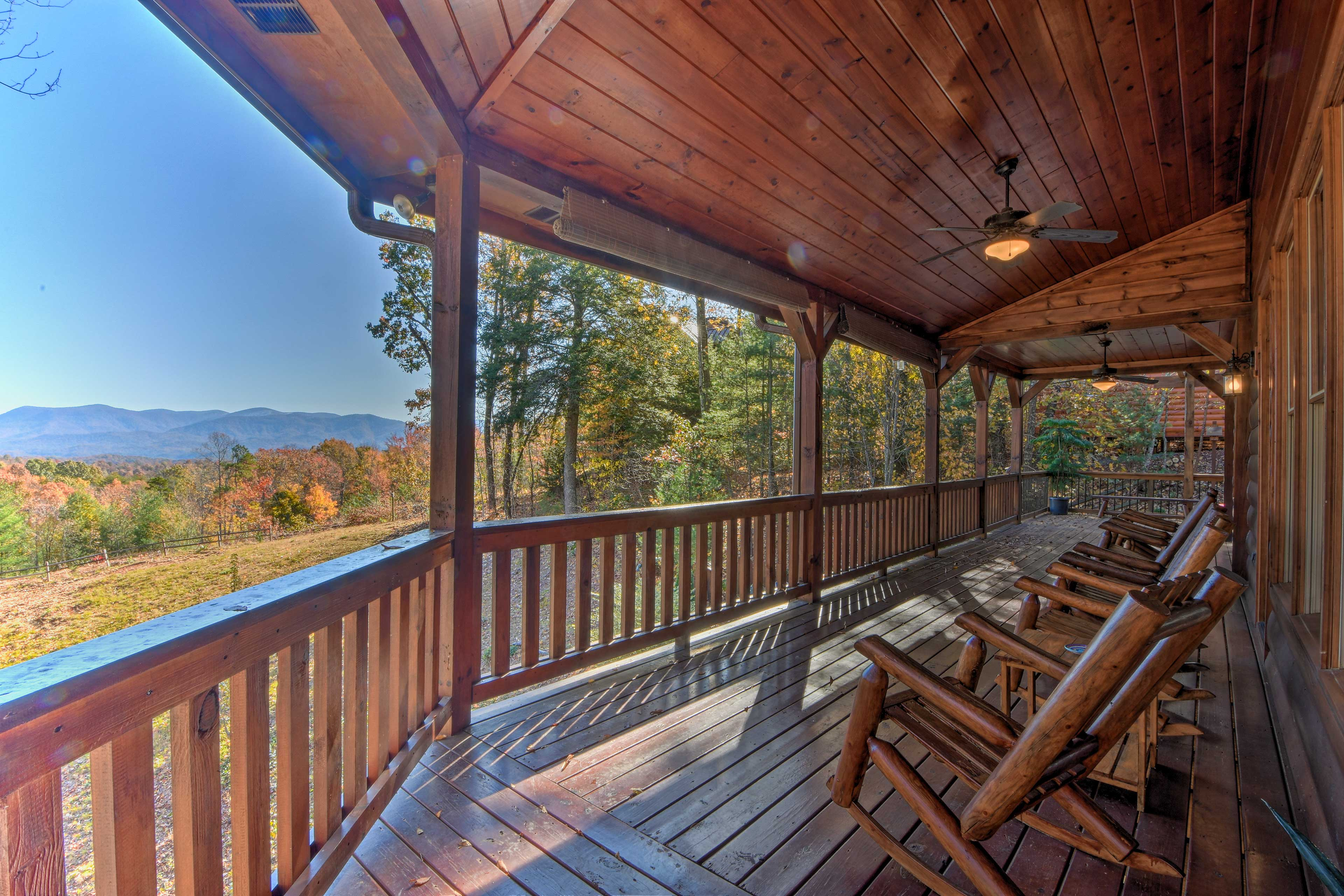 Fall in love with this mountain escape cabin in Ellijay, Georgia.
