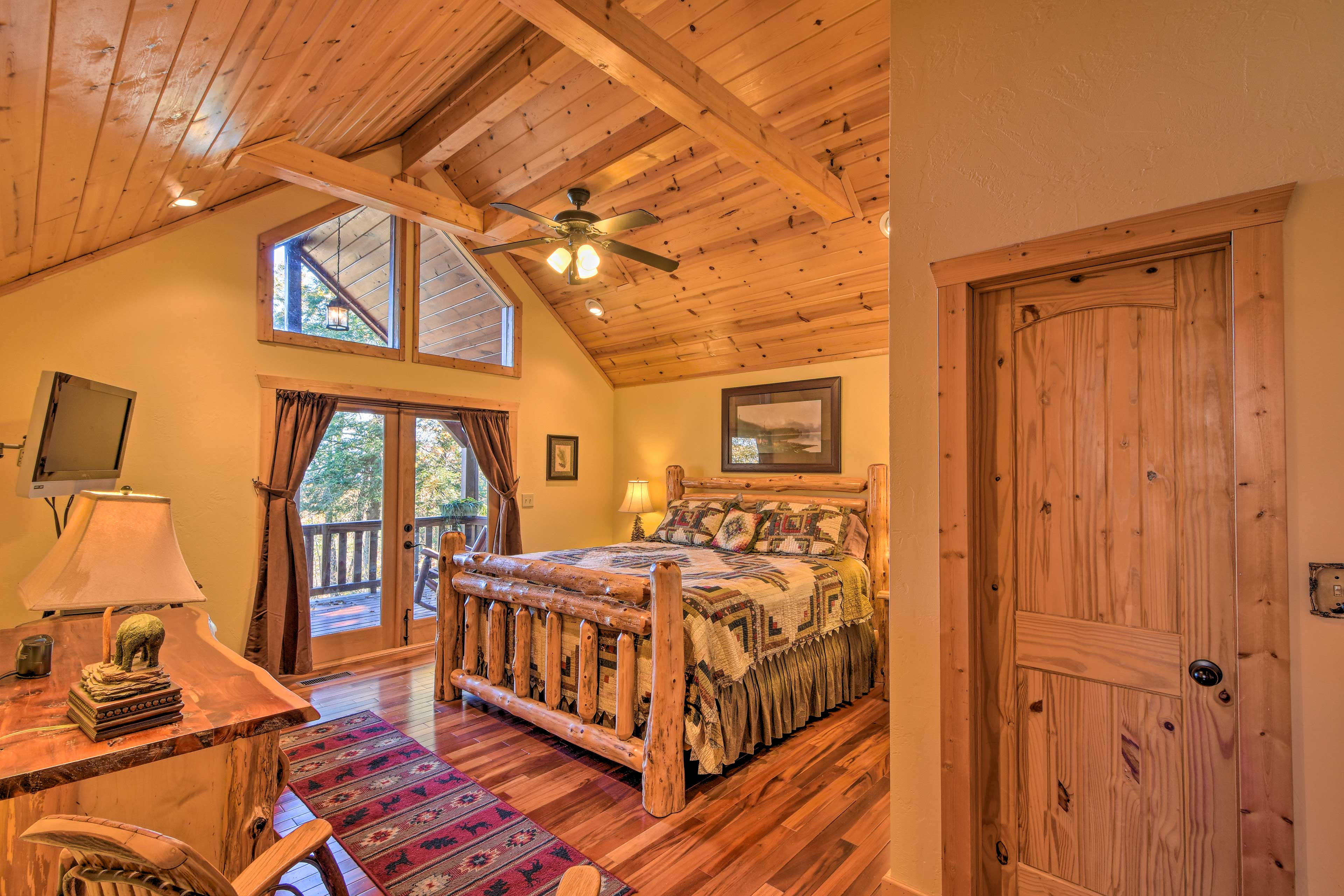 Welcome to your private master suite.