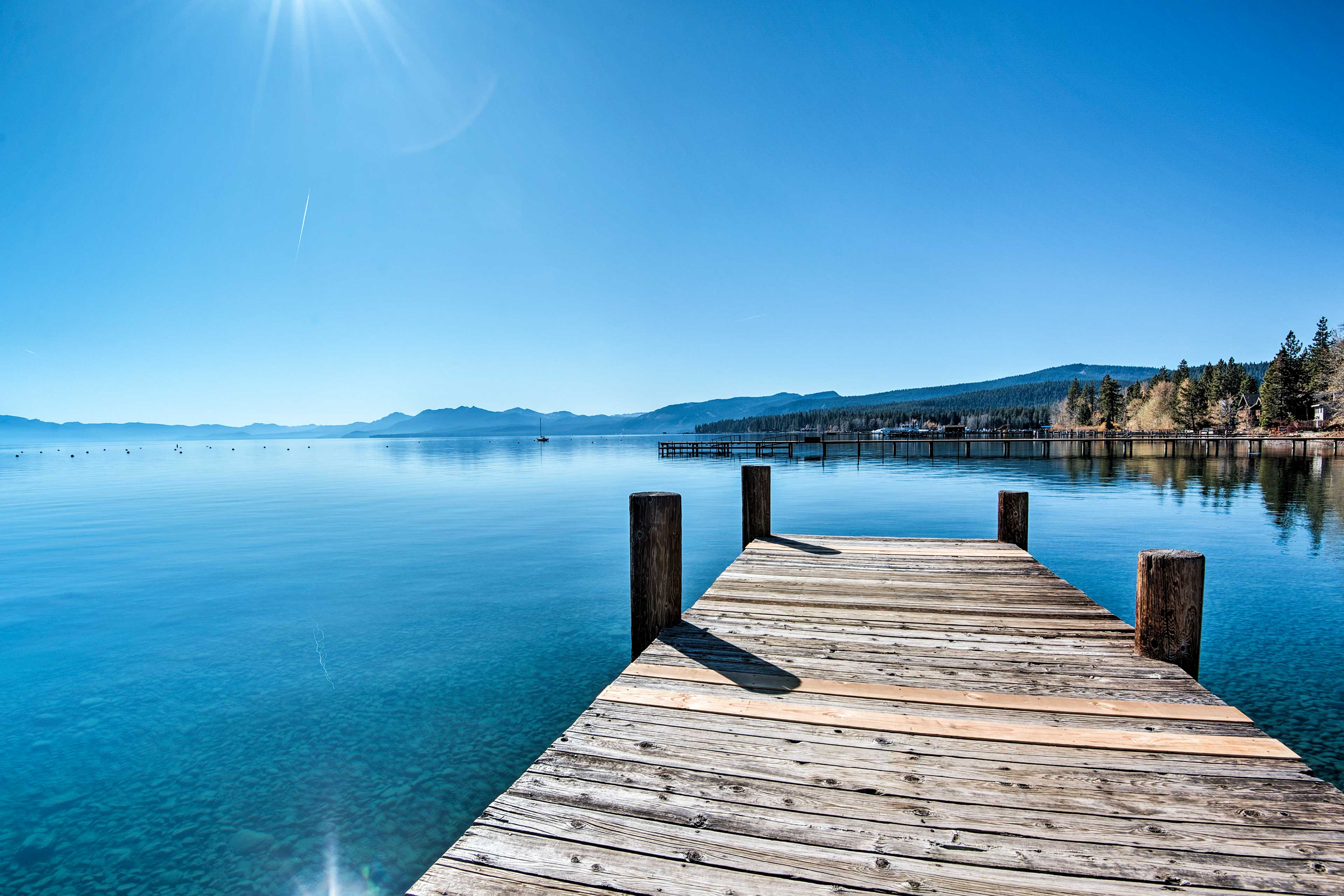 You'll be just 400 feet from the pristine & scenic shores of Lake Tahoe!